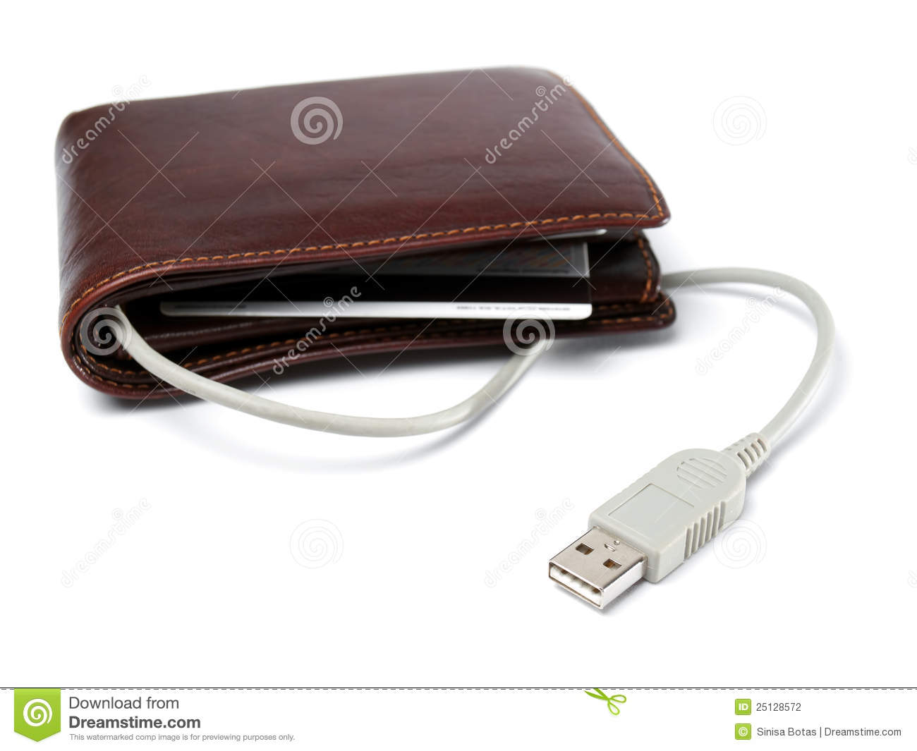 Electronic Wallet Stock Photography - Image: 25128572