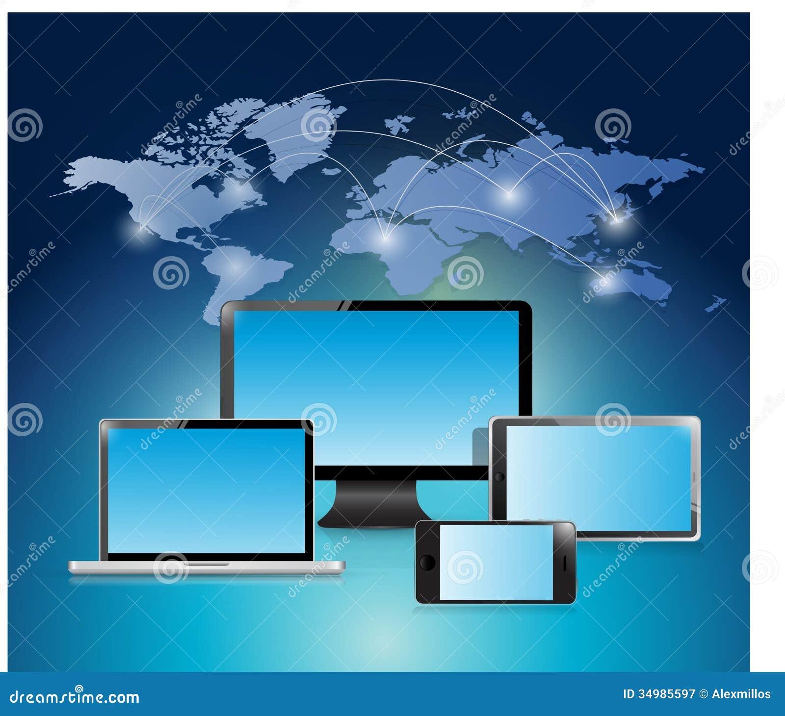 electronic world background - photo #43