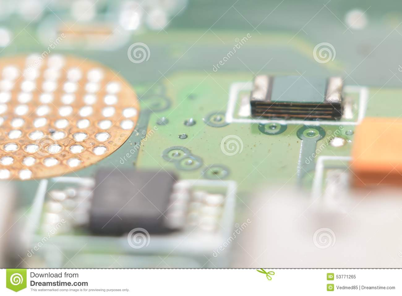 Electronics Circuits Background Stock Image Of Planar Integrated Used As Royalty Free Photos Photo