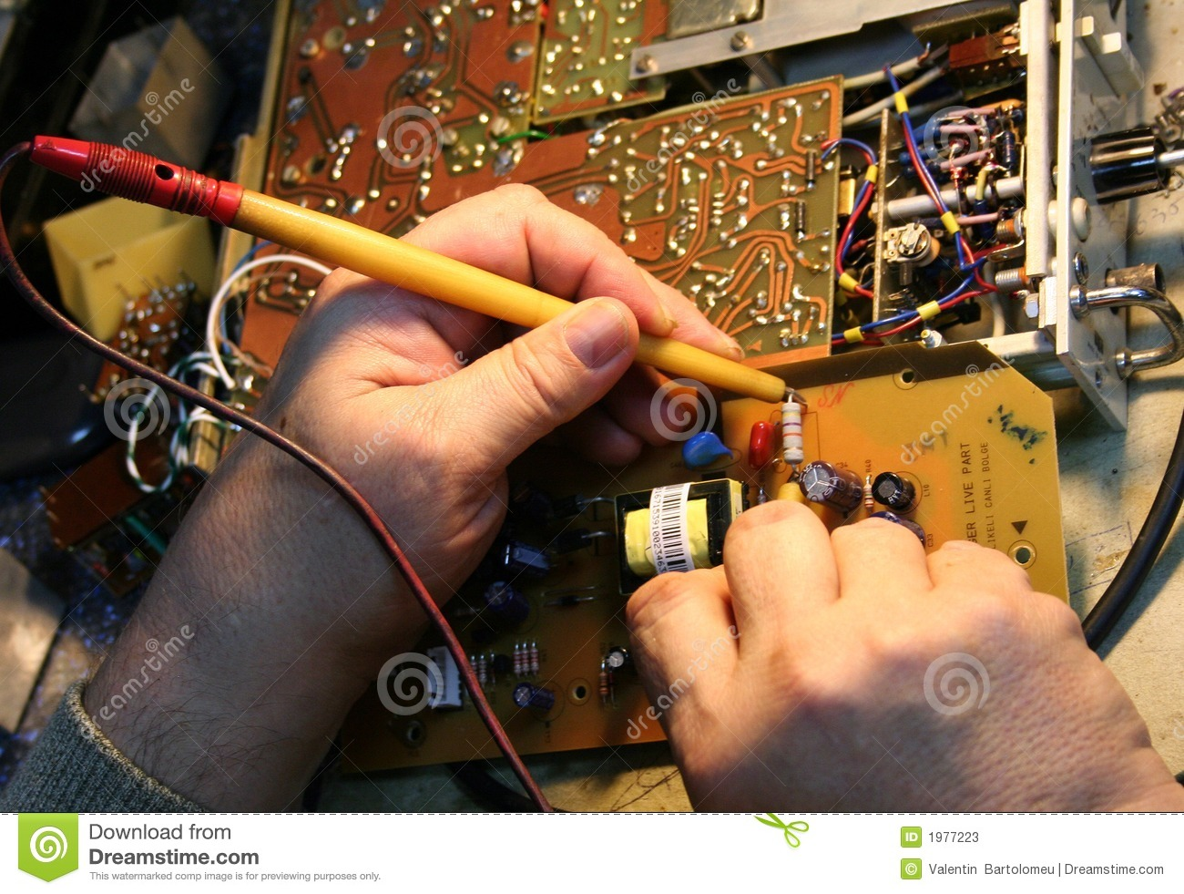 Electronics Circuits Board Stock Image Of Conductor 1977223 Electronic And Systems Pdf