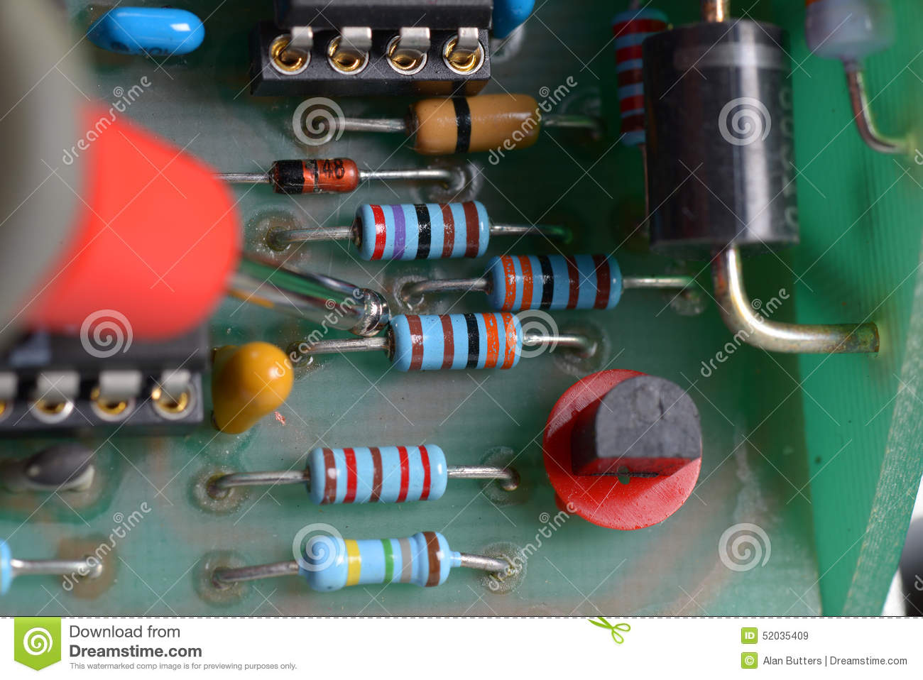 Human Hand Repairing Printed Circuit Board Close Up Stock Repair Electronic Royalty Free Photography Image And Diagnostic Electronics Photo