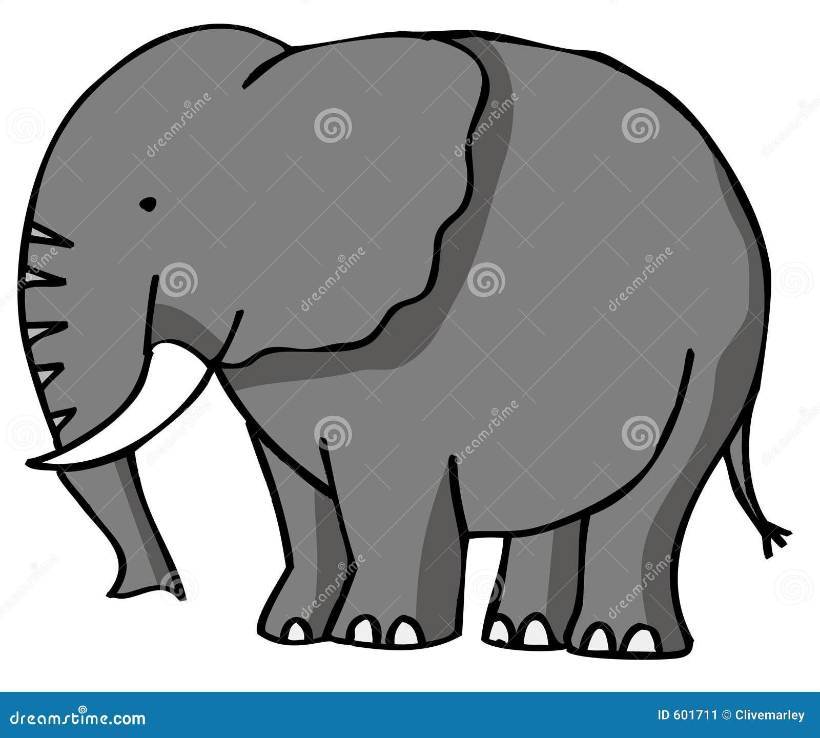 Elephants Clipart Elefant Stockbild Bild 601711 Baby