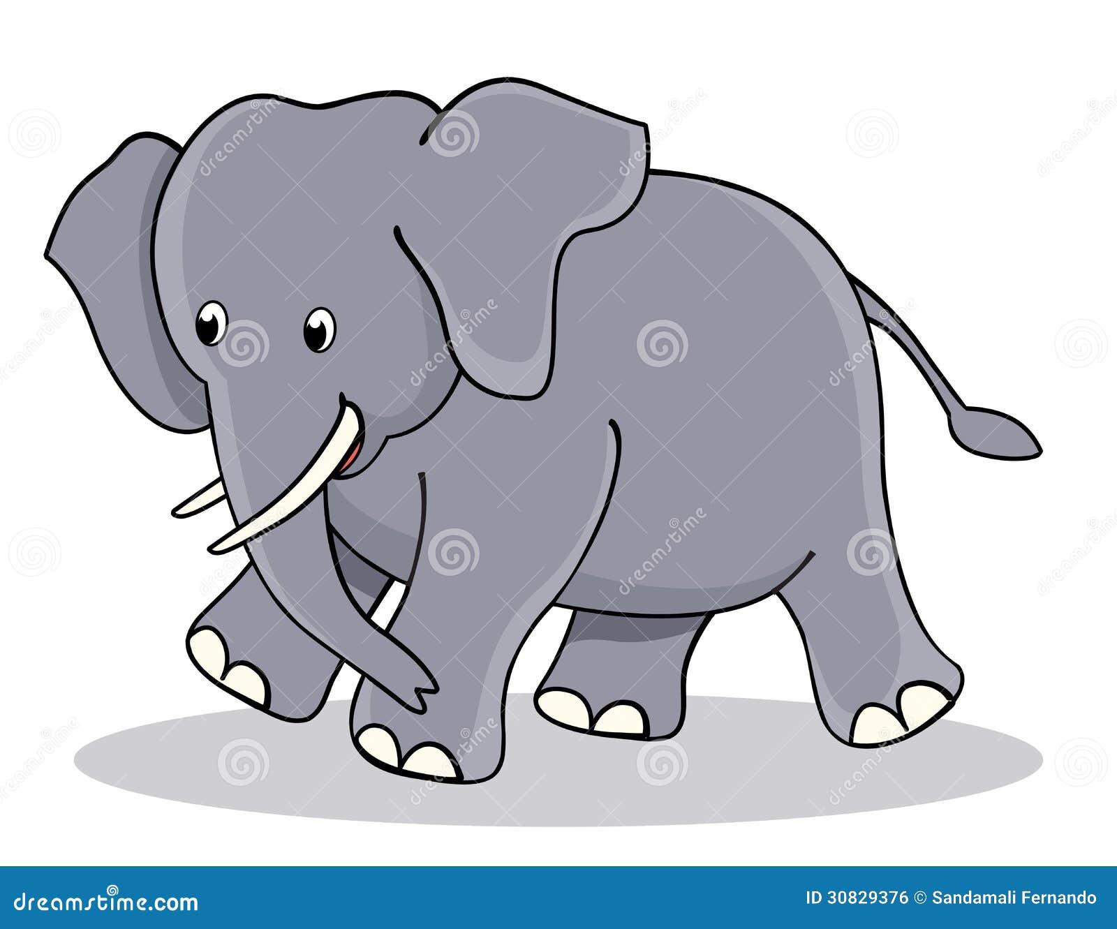Elefante sveglio del bambino