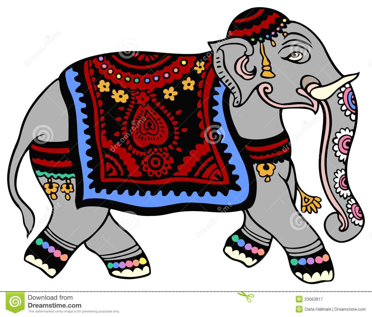 Thai Elephant Clip Art Images & Pictures - Becuo