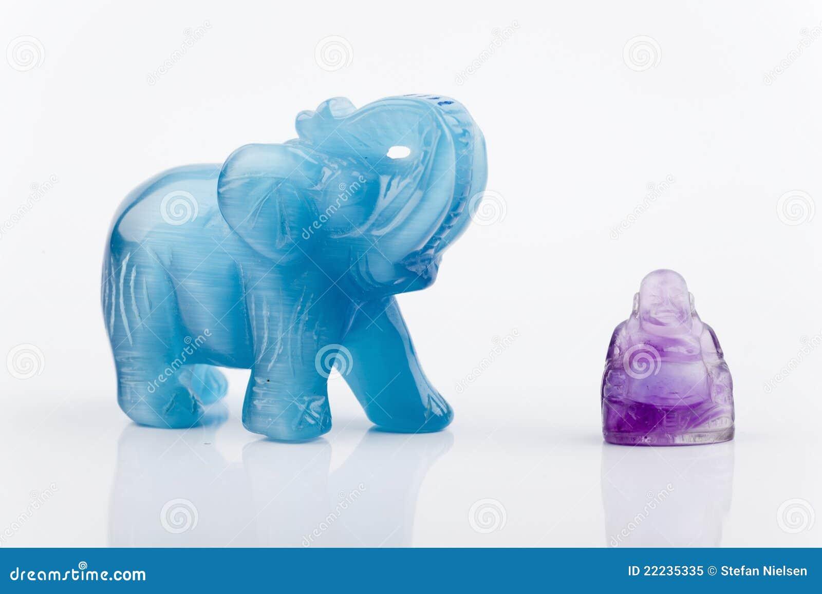 Elefante y Buddha
