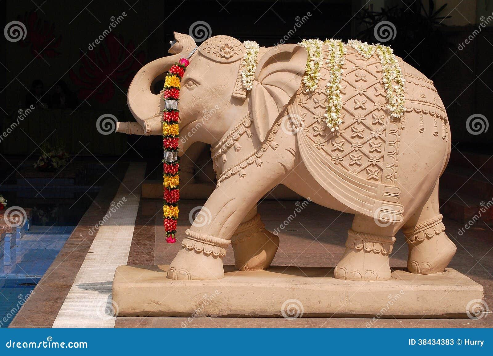 Elefantstatus in Indien
