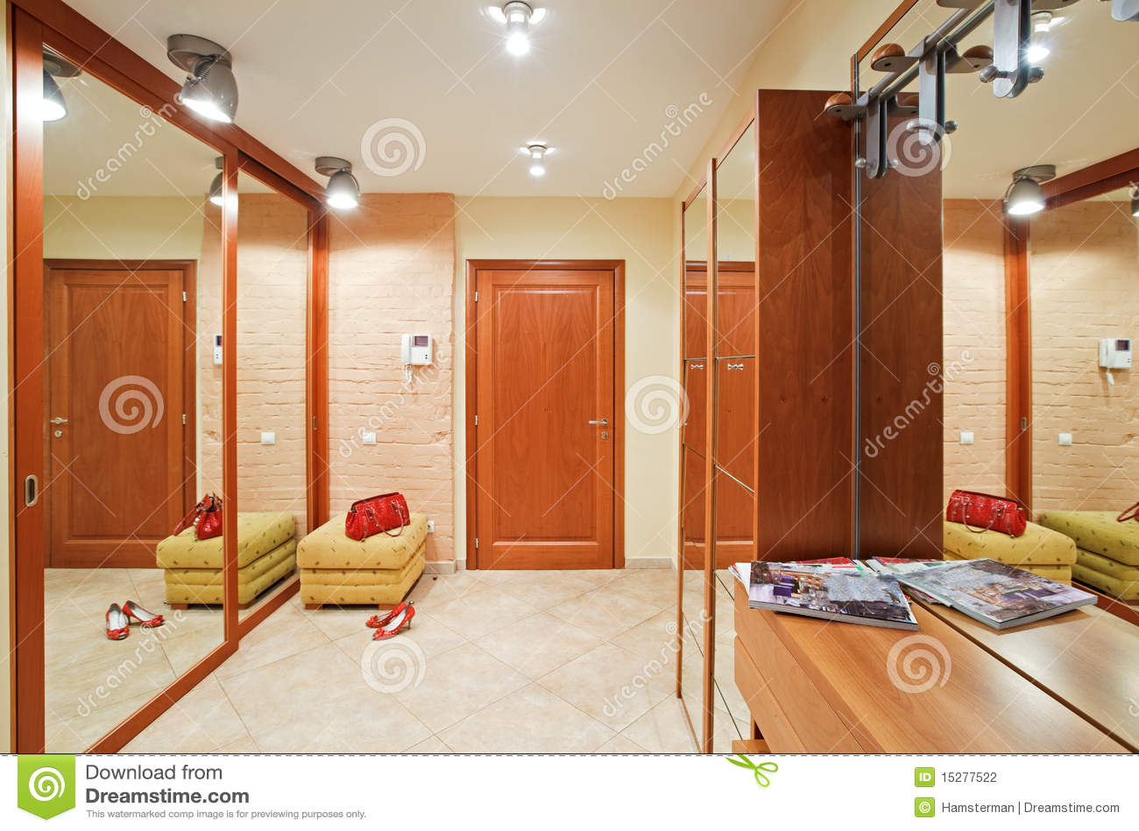 elegance anteroom interior warm tones 15277522