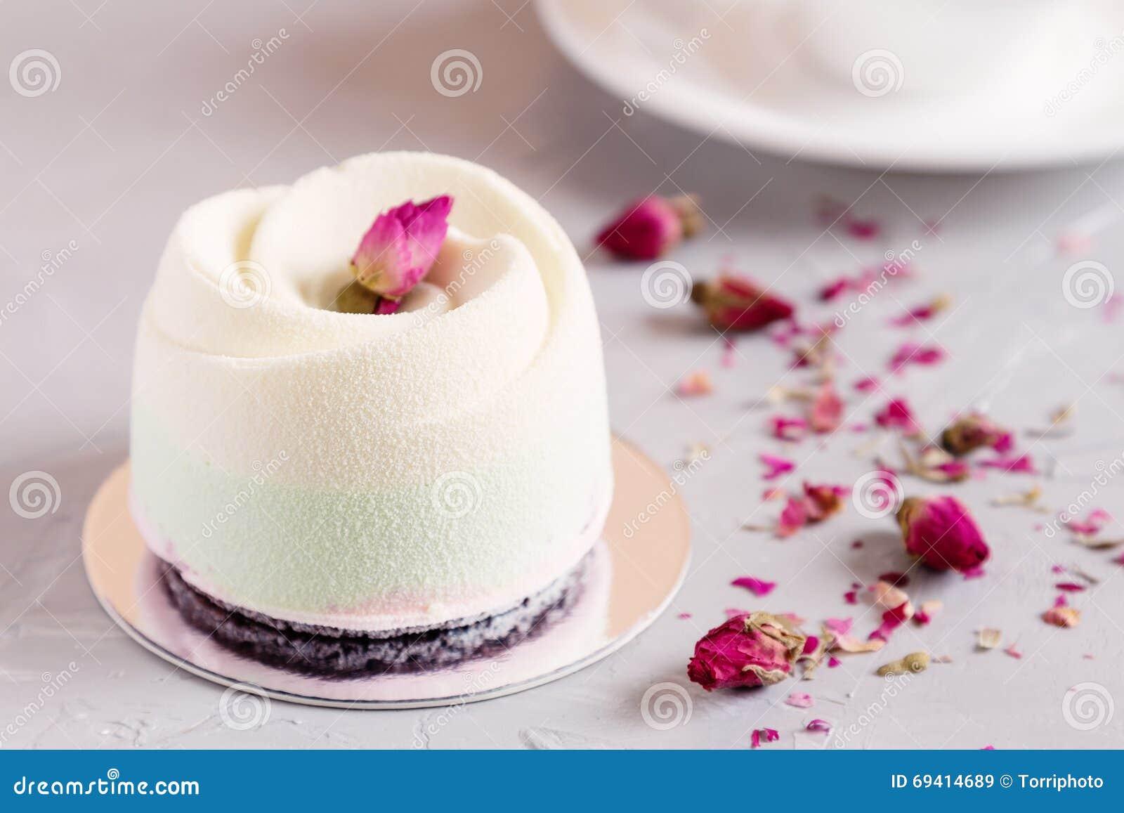 Rose Mousse Cake