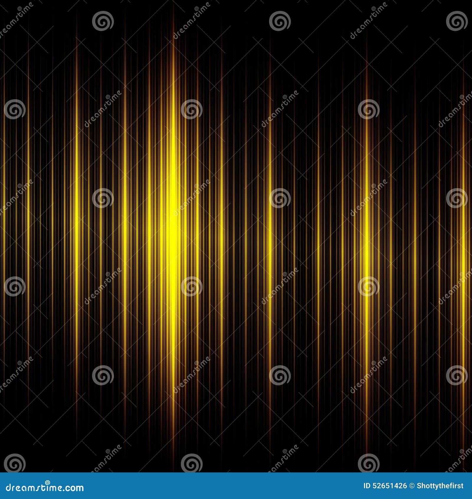 Elegancki Czarny Żółtych linii tło piękny projekt abstrakcyjne Kreatywnie Nowożytna technologii ilustracja Ciemna Rozjarzona teks
