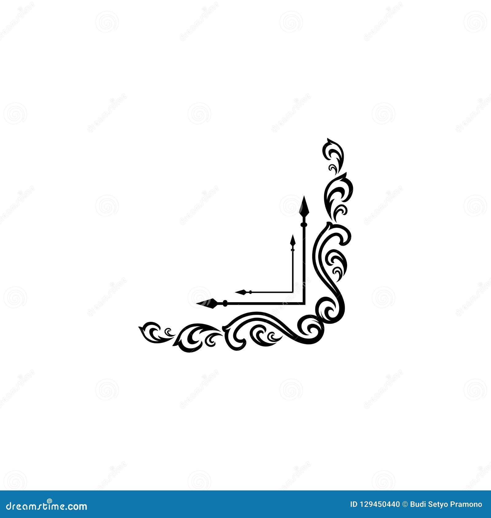 Elegancki retro zawijasa wystrój Retro rocznik insygnie, logotypy lub Wektorowi projektów elementy, biznes podpisują, logowie, to