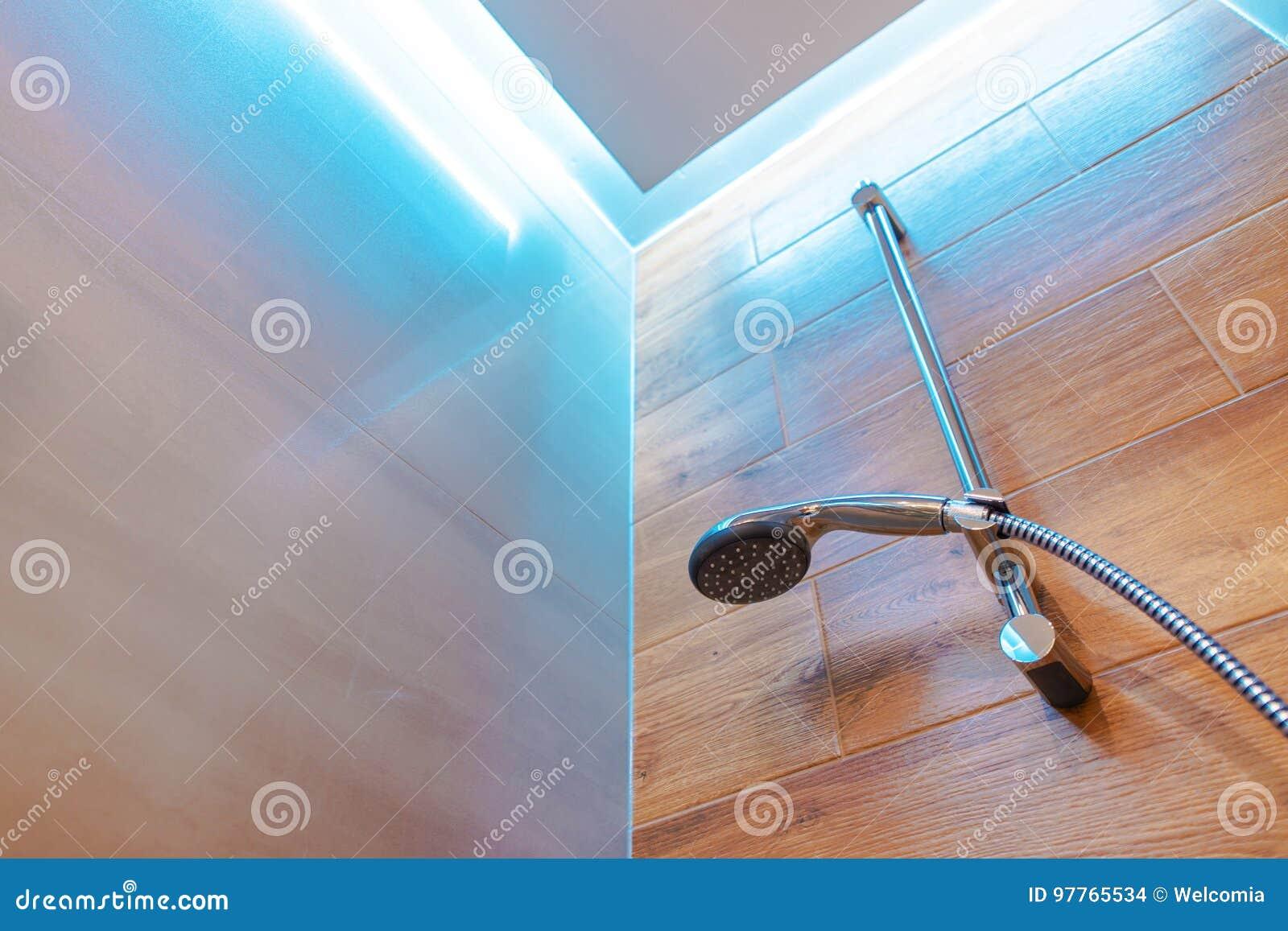 Elegant öffnen Sie Dusche Stockfoto Bild Von Sauber 97765534