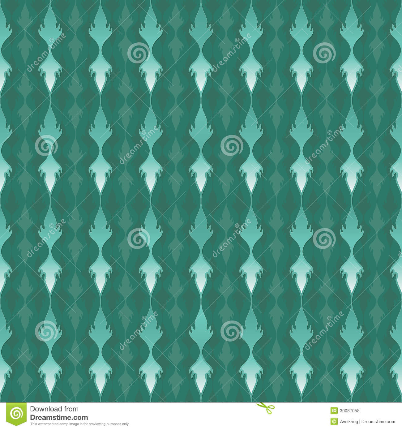 Elegant Teal Pattern Royalty Free Stock Photos   Image 30087058