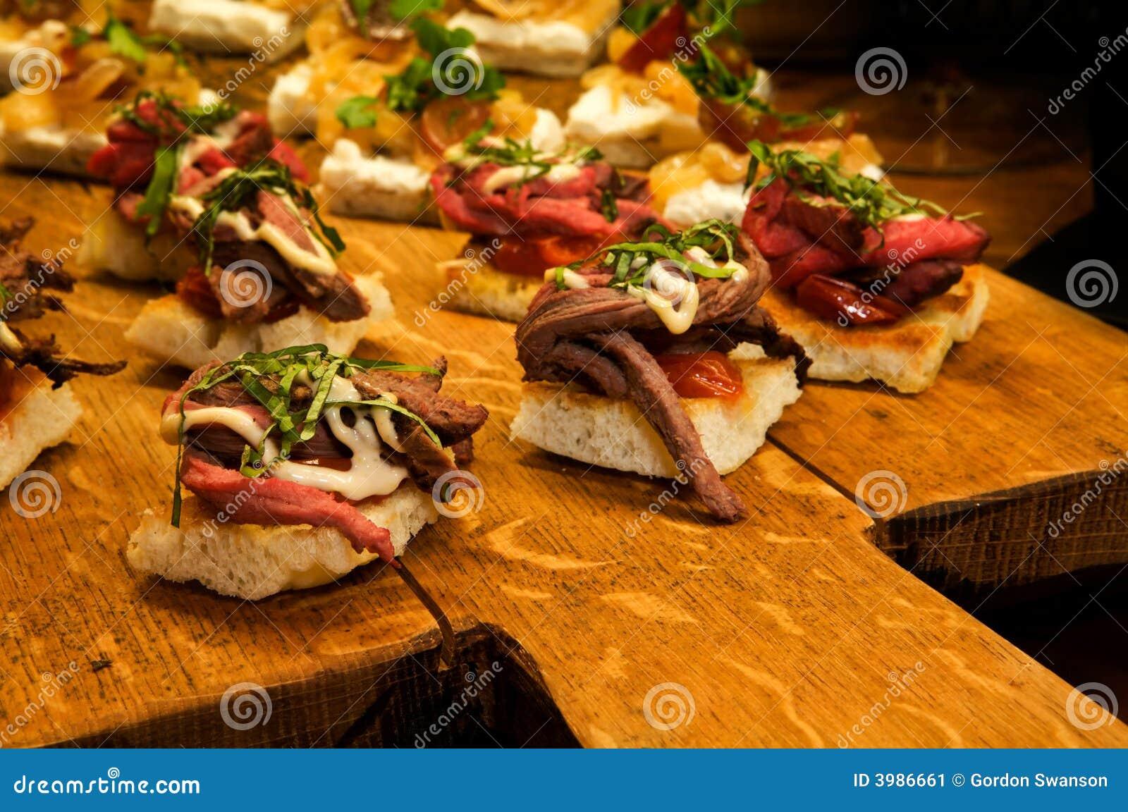 Elegant Appetizer Stock Image Image 3986661