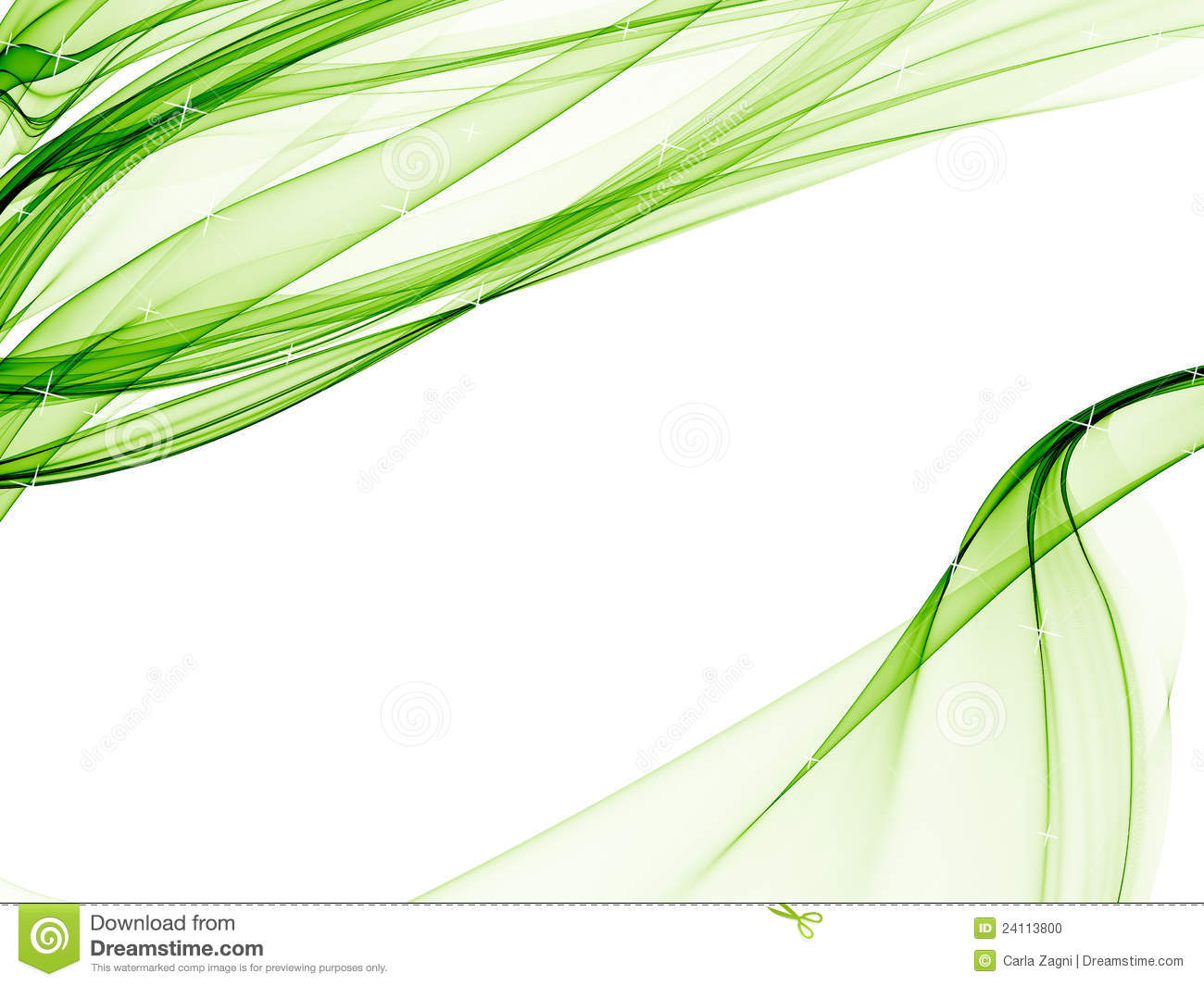 Elegant background with soft green designs stock for Green design