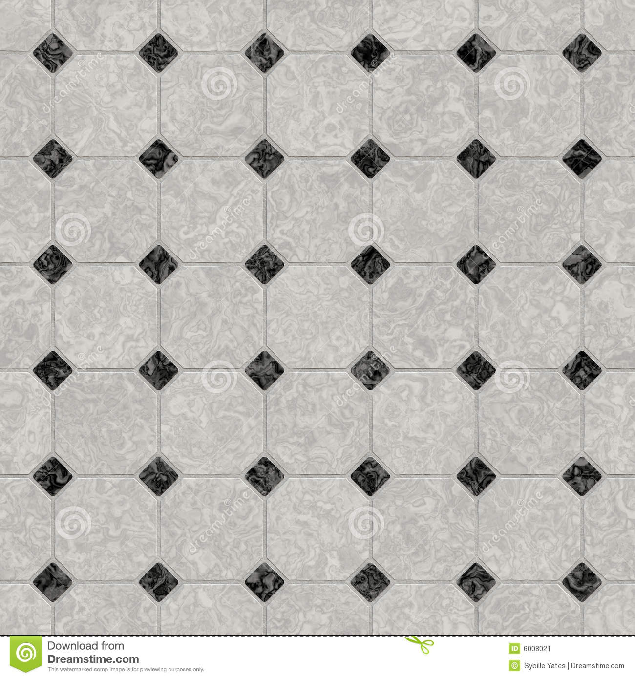 Elegant black and white marble floor. Elegant Black And White Marble Floor Stock Image   Image  6008021