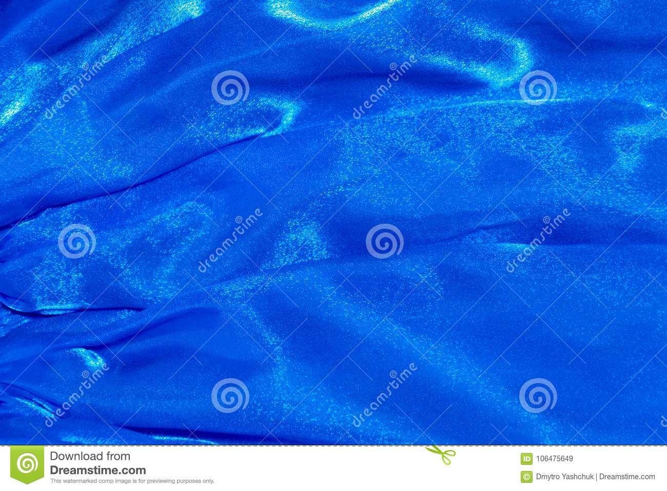 elegant blue silk can use as background