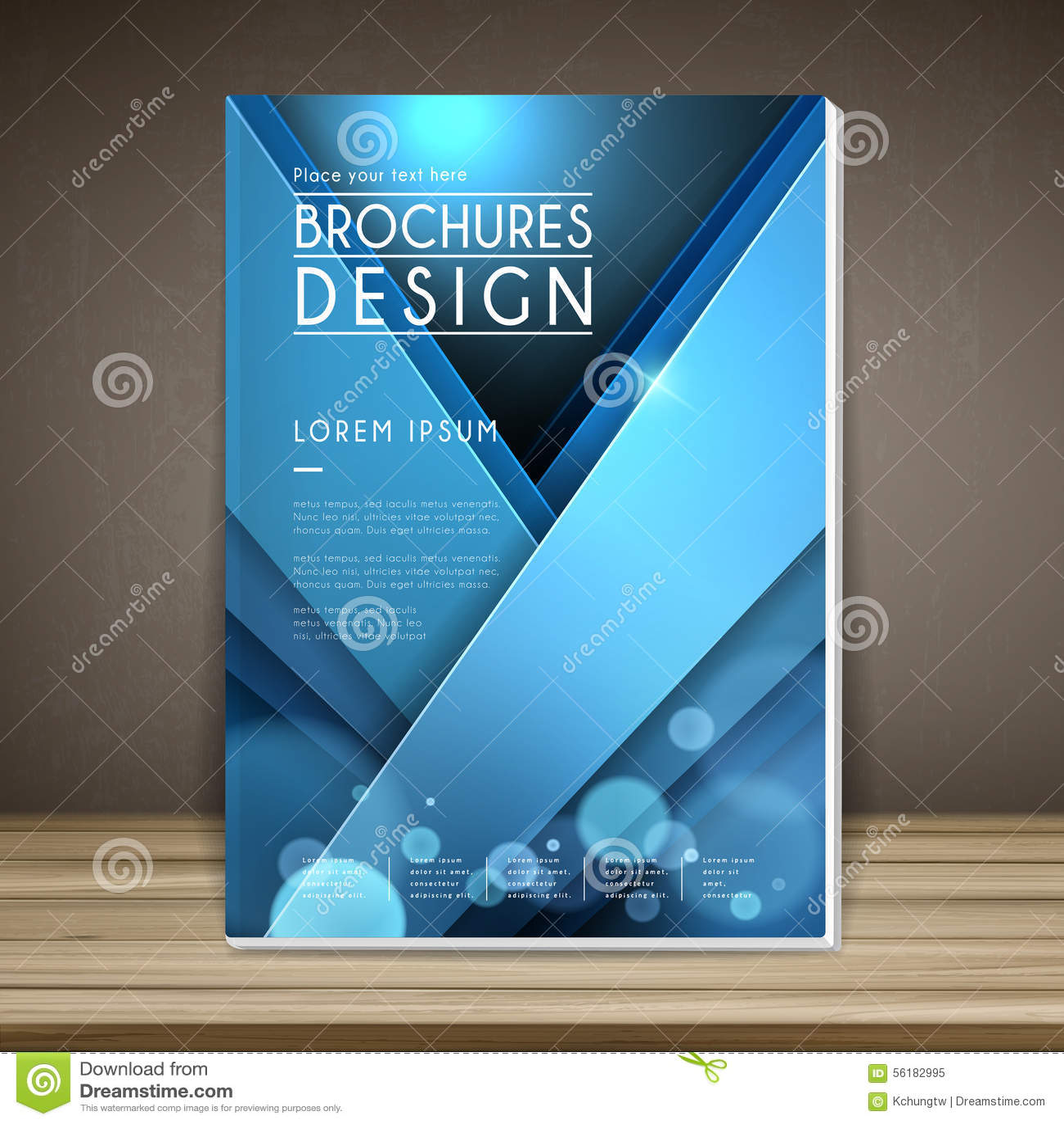 Book Cover Design Photo Elements : Elegant book cover template design stock vector image