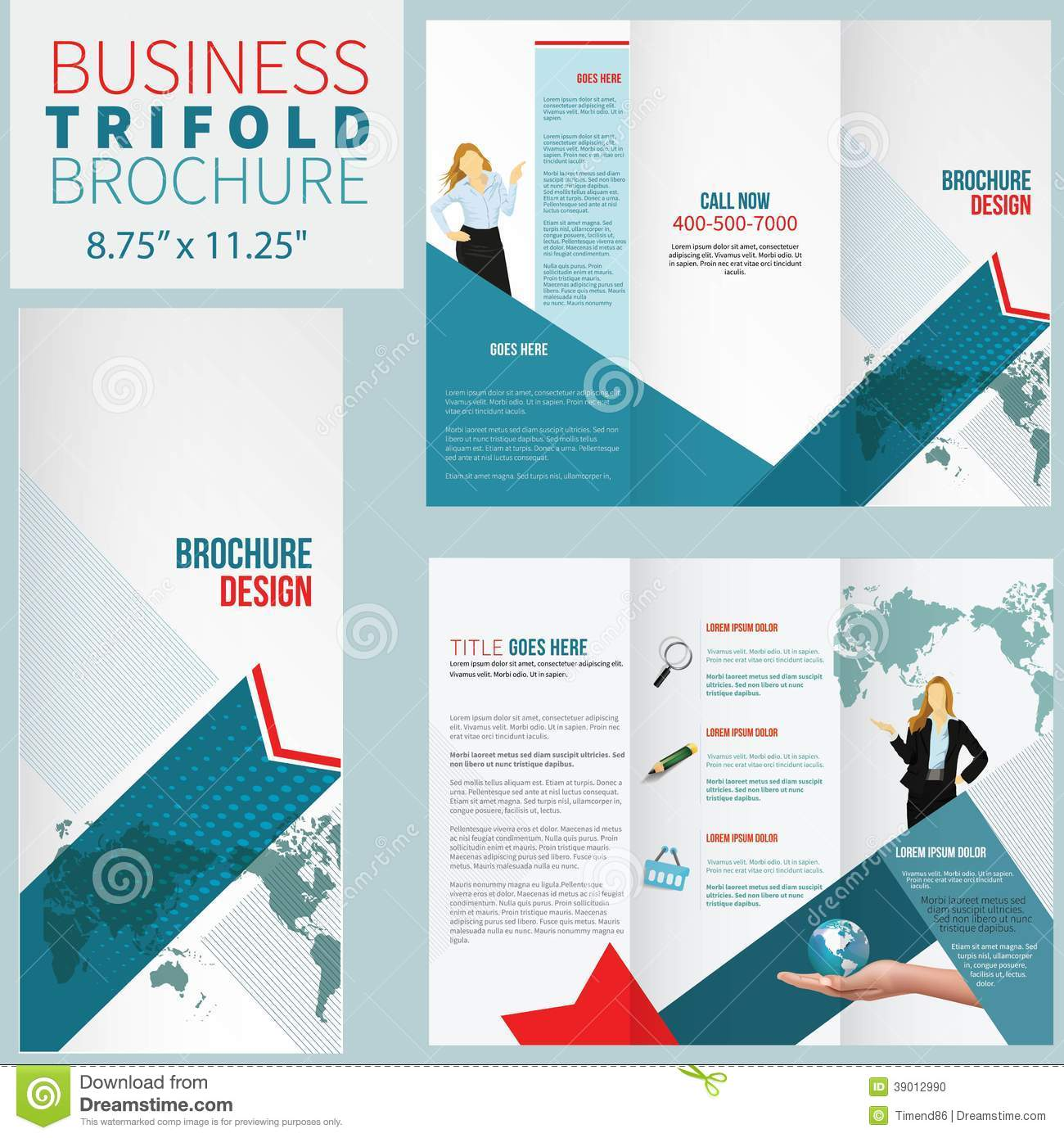elegant brochure templates elegant brochure stock illustration image of fold frame