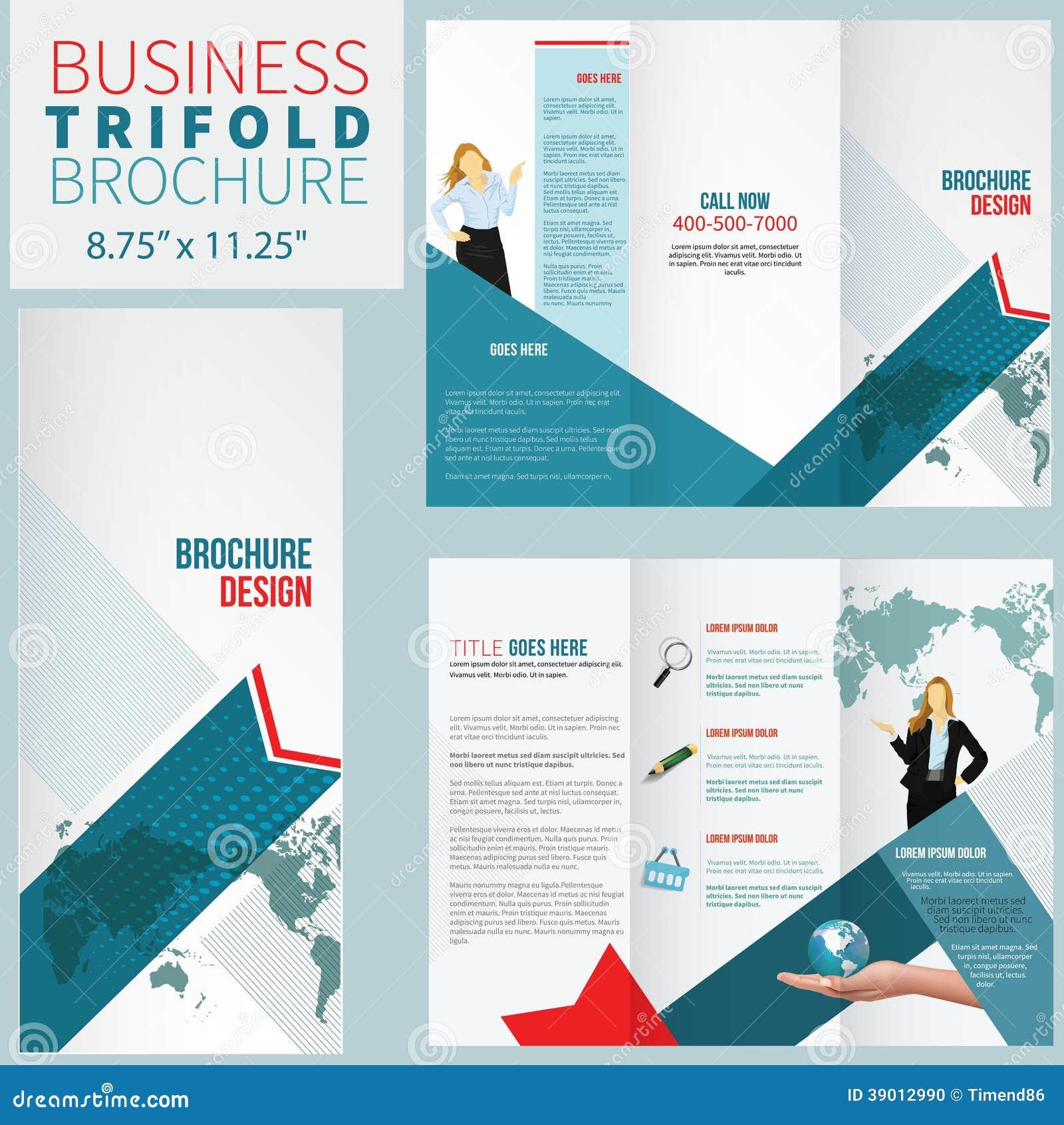 elegant brochure templates - elegant brochure stock illustration image of fold frame