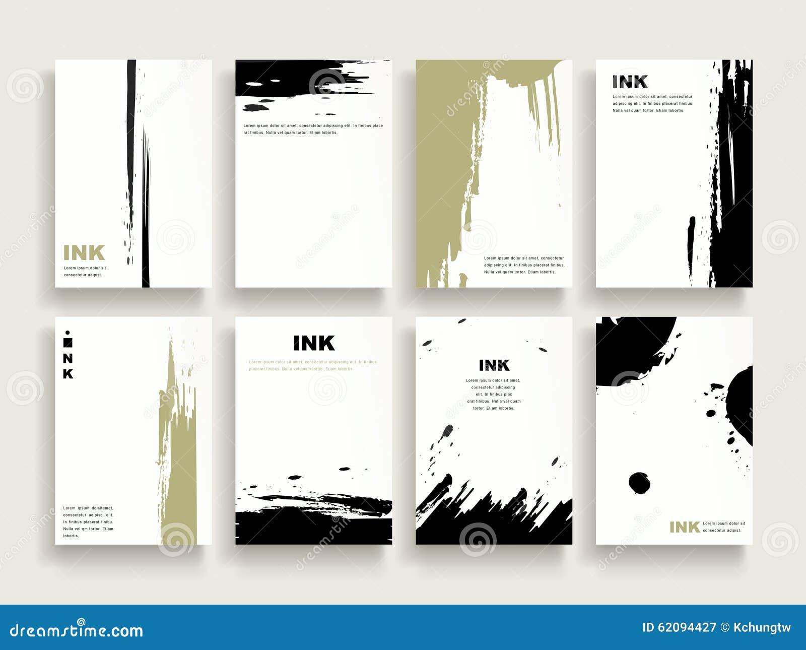 elegant brochure template - elegant brochure template stock vector illustration of