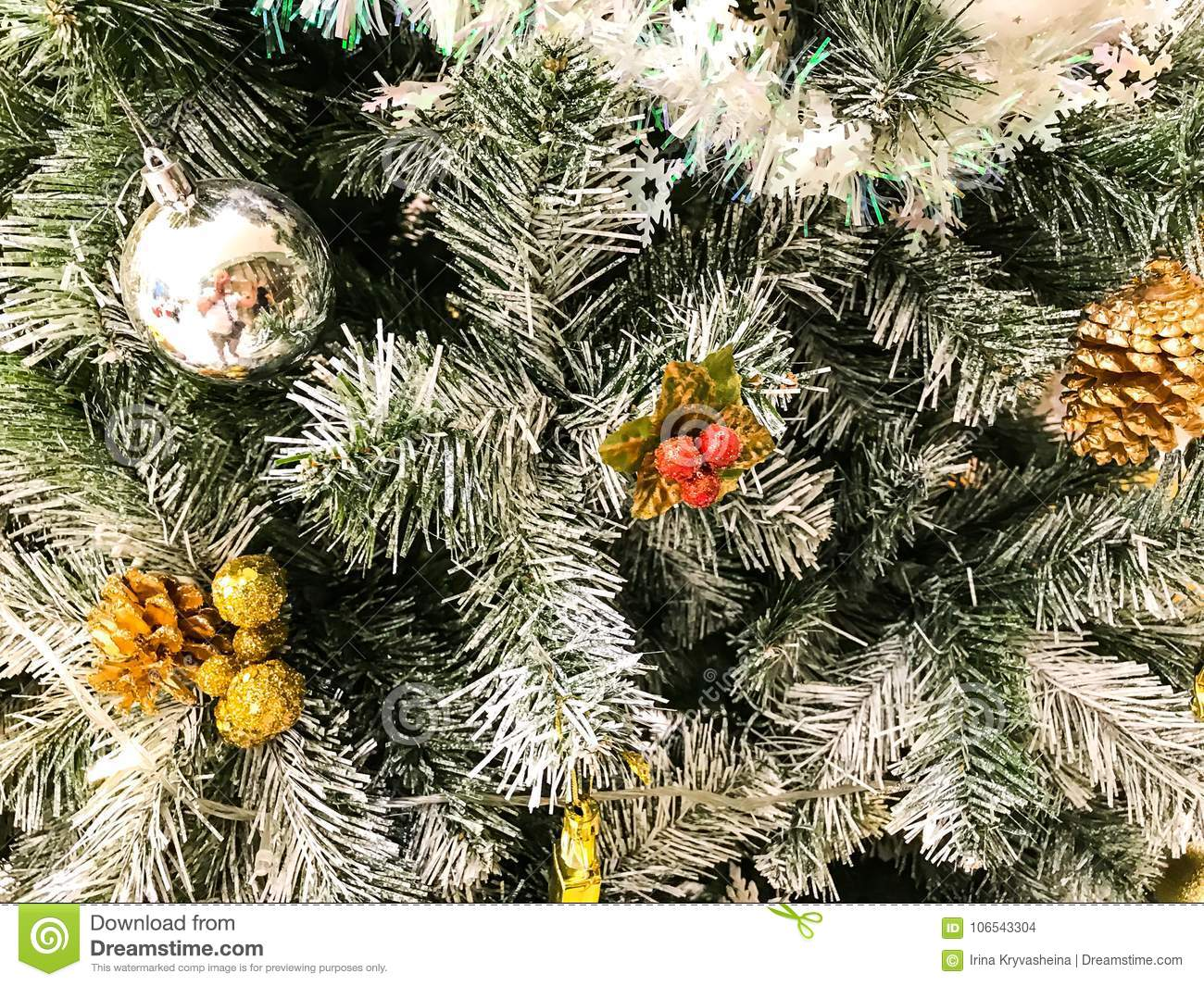 download elegant christmas background and christmas tree decorations stock photo image of green - Elegant Christmas Tree Decorations