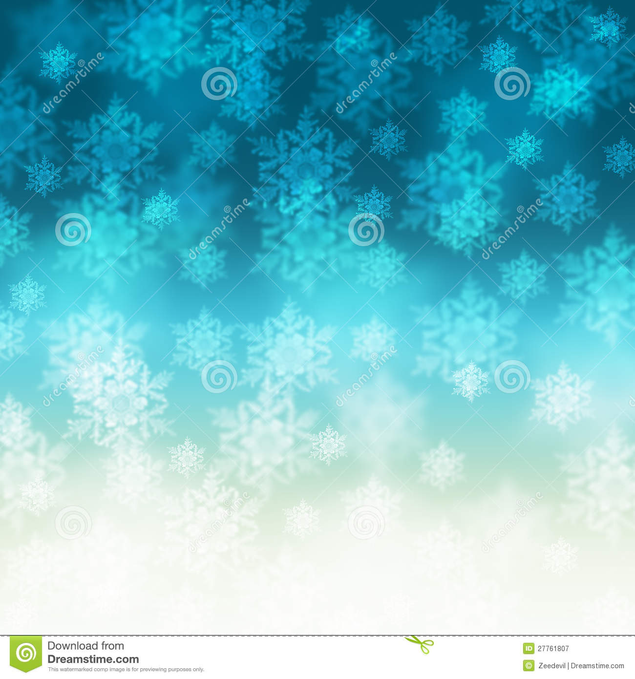 Elegant Christmas Background With Snowflakes Royalty Free