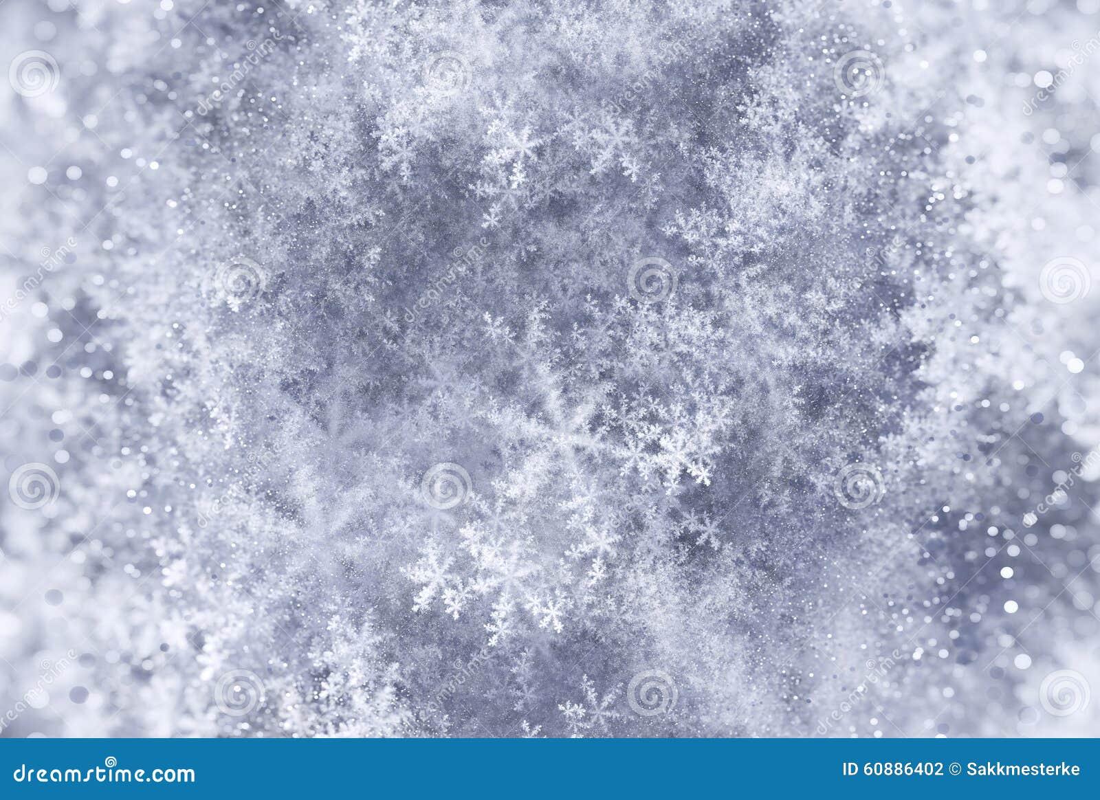 Elegant Christmas Background With Snowflakes Stock Vector: Elegant Christmas Background With Snowflakes Fractal Stock