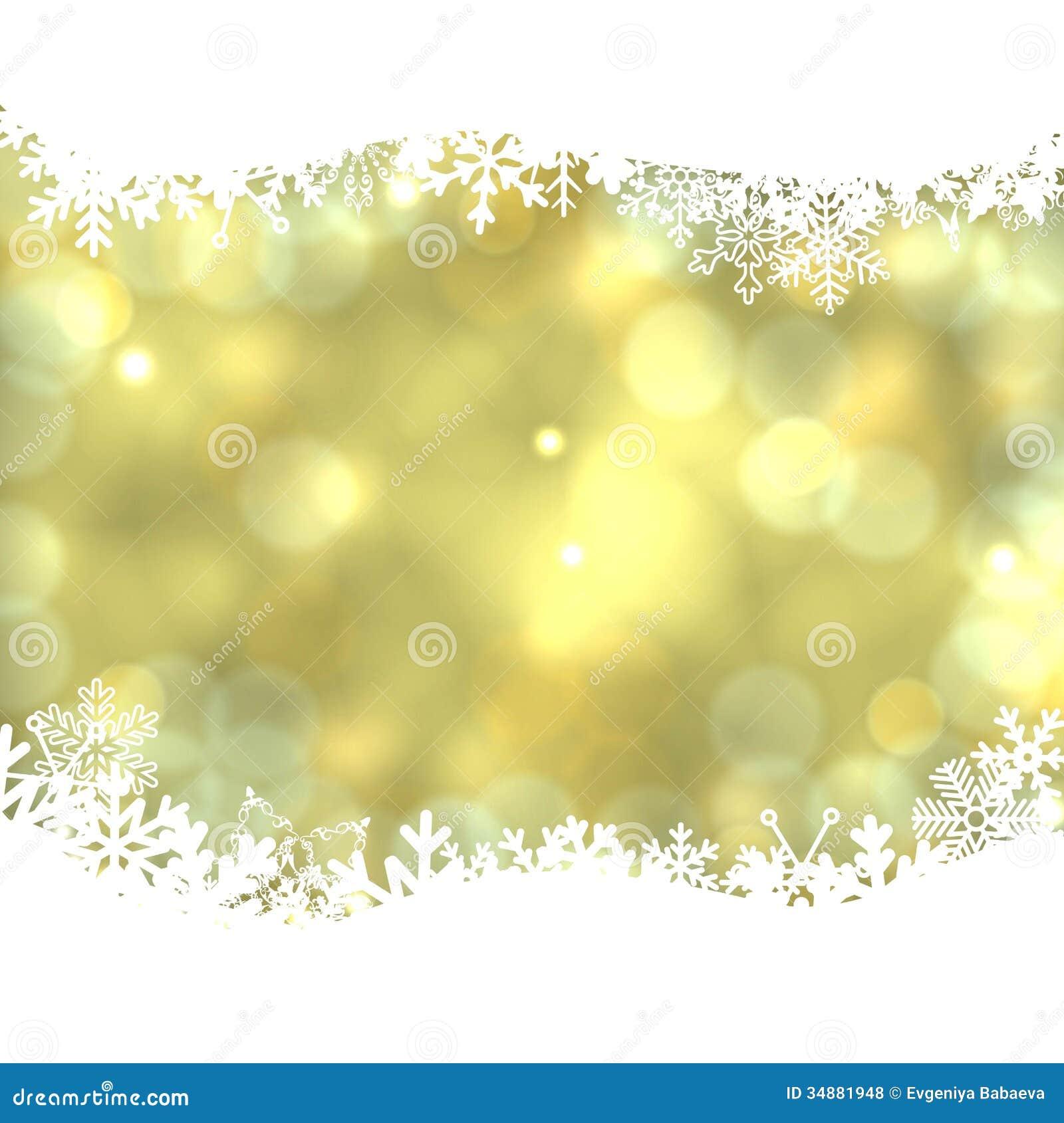 Elegant Christmas Background Wish Snowflakes. Royalty Free Stock ...
