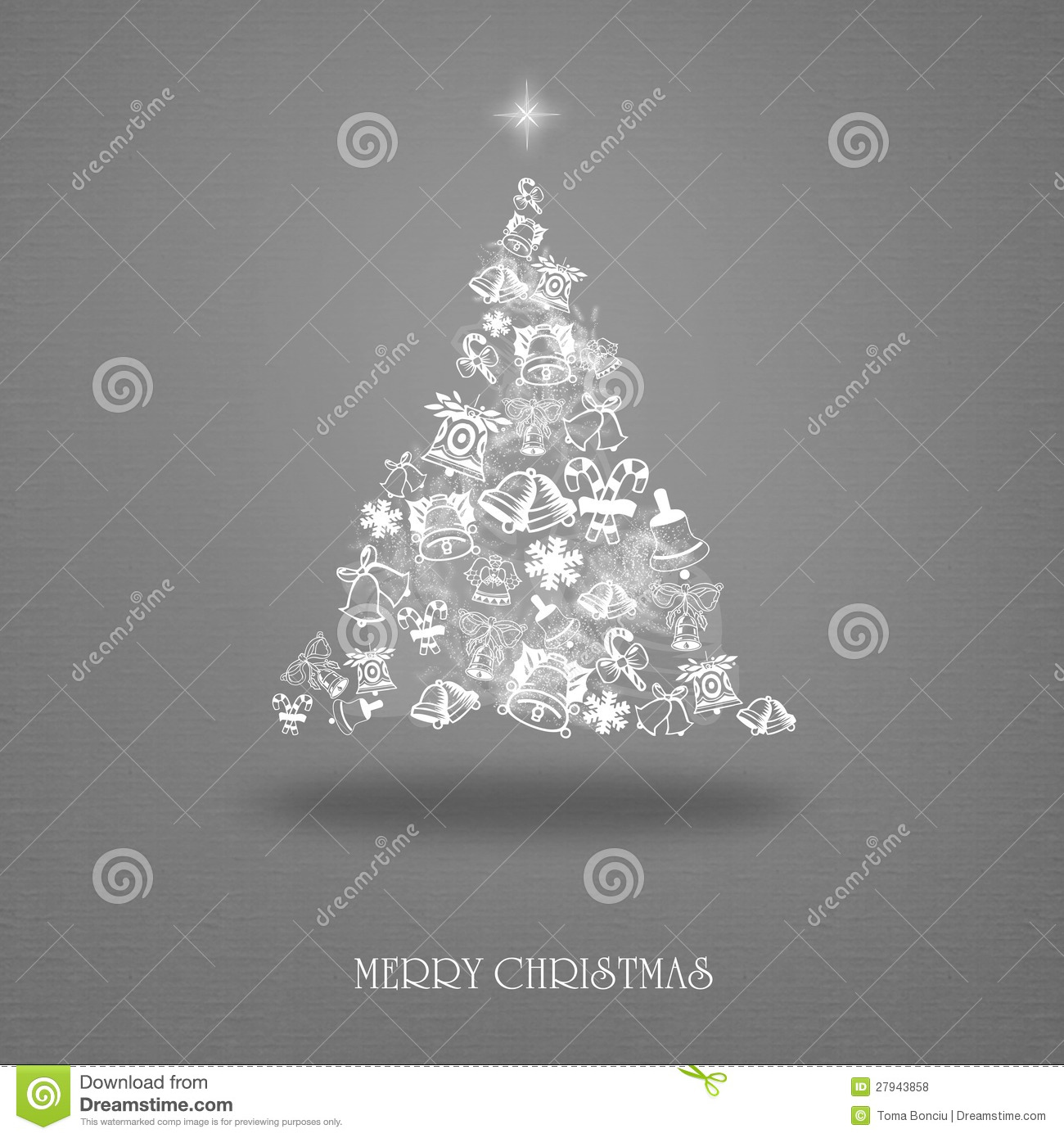 download elegant christmas card with a symbolic tree stock illustration illustration of greeting clip - Elegant Christmas Cards