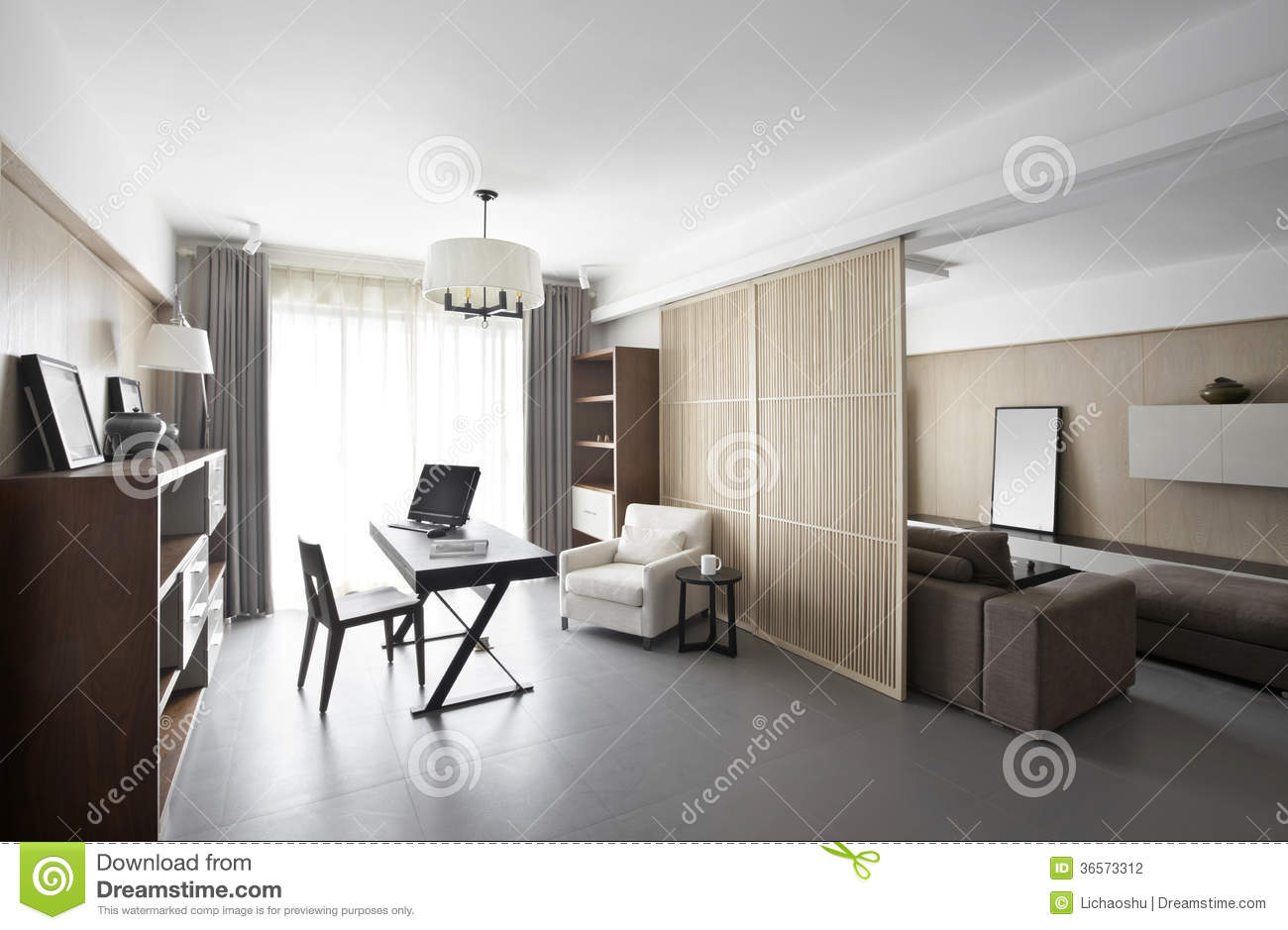 Elegant and comfortable home interior stock photography image 36573312 - Comfy interiors ...