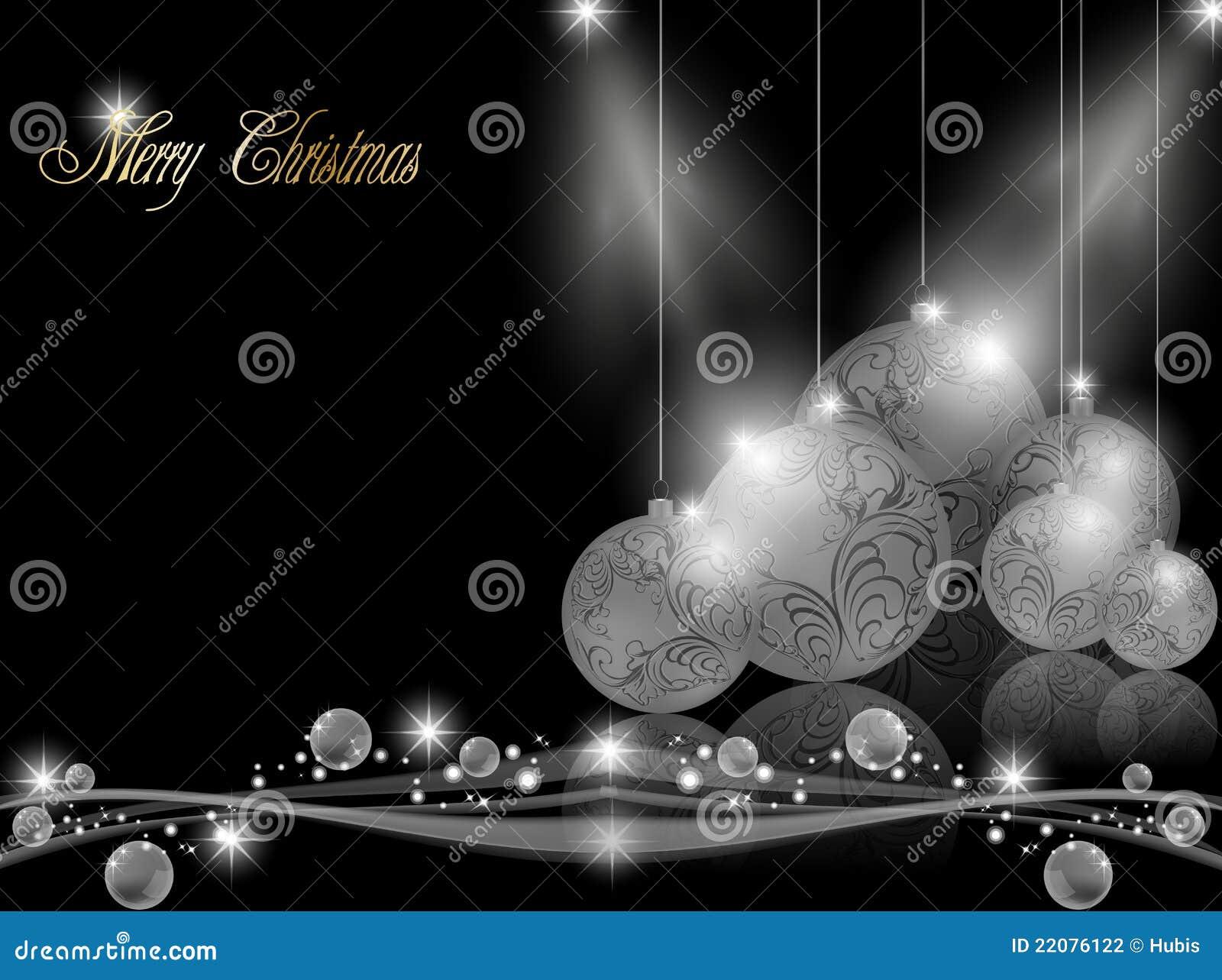 Elegant dark christmas background stock photography for Dark elegant wallpaper