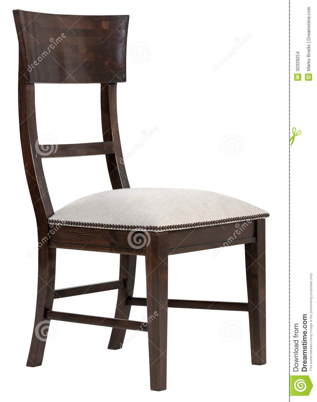 Elegant dining chair stock images image 30329254 for Elegant upholstered dining chairs