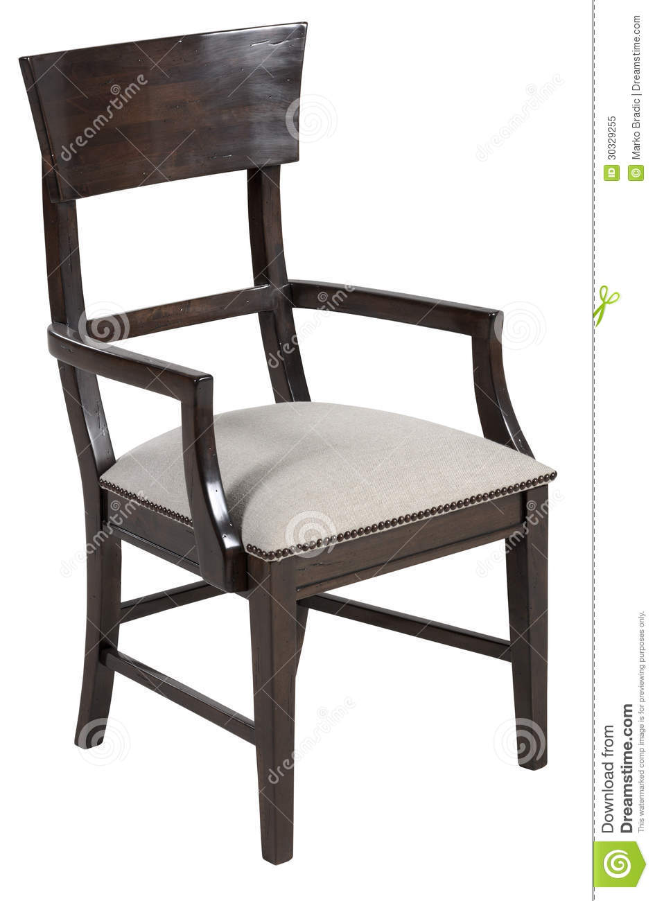 Elegant dining chair royalty free stock photo image for Elegant upholstered dining chairs