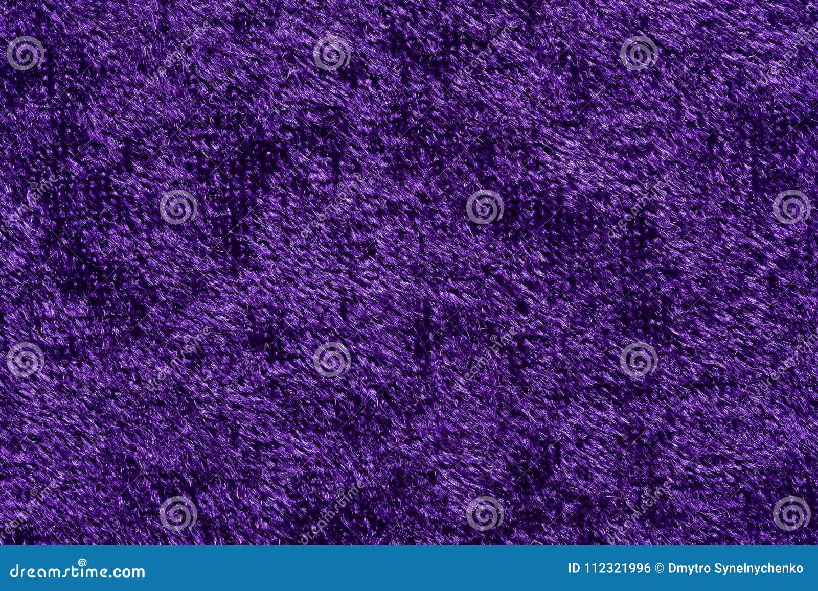 Elegant Fabric Texture In Contrast Violet Tone Stock Photo Image