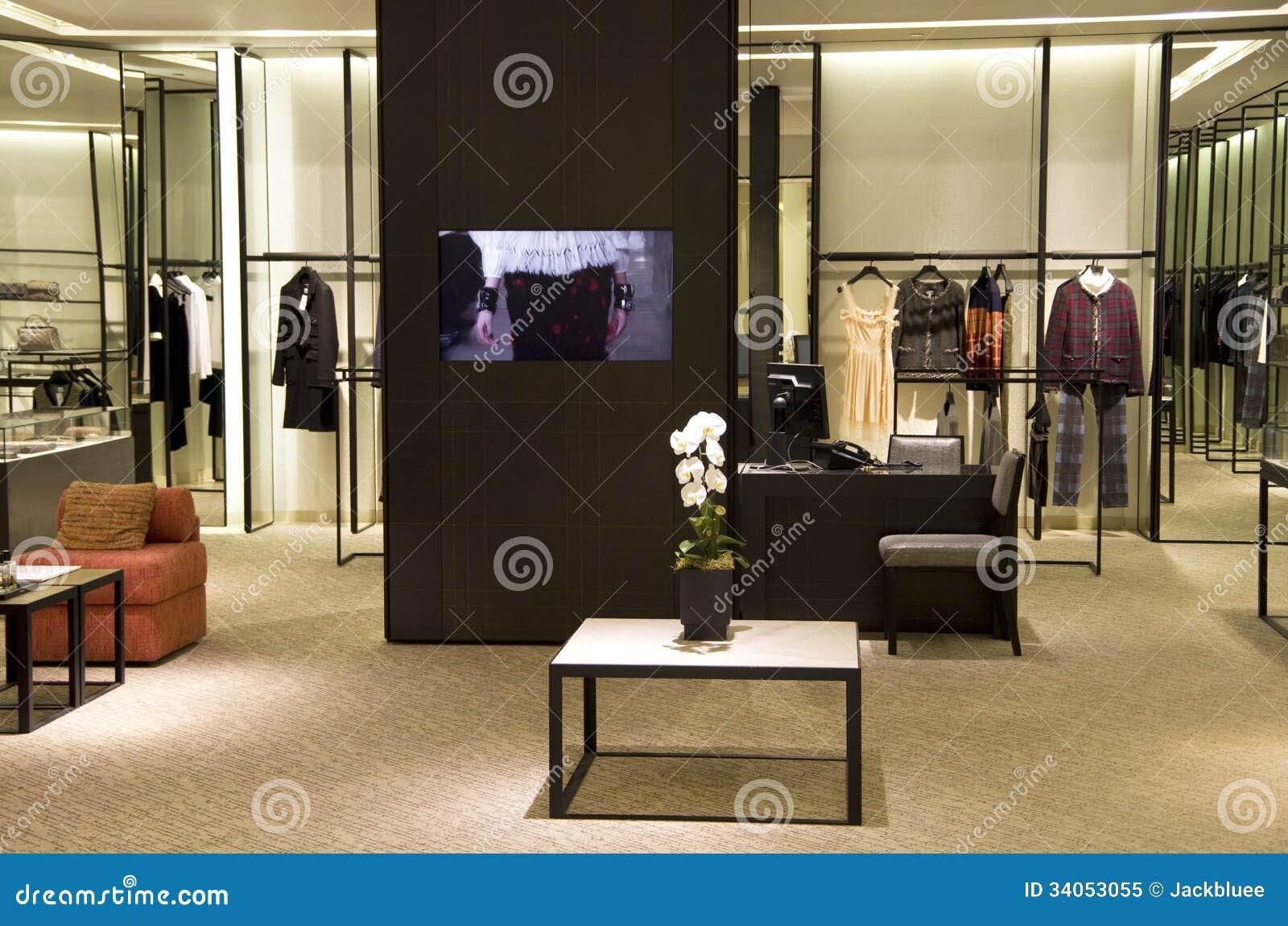 Elegant clothing stores