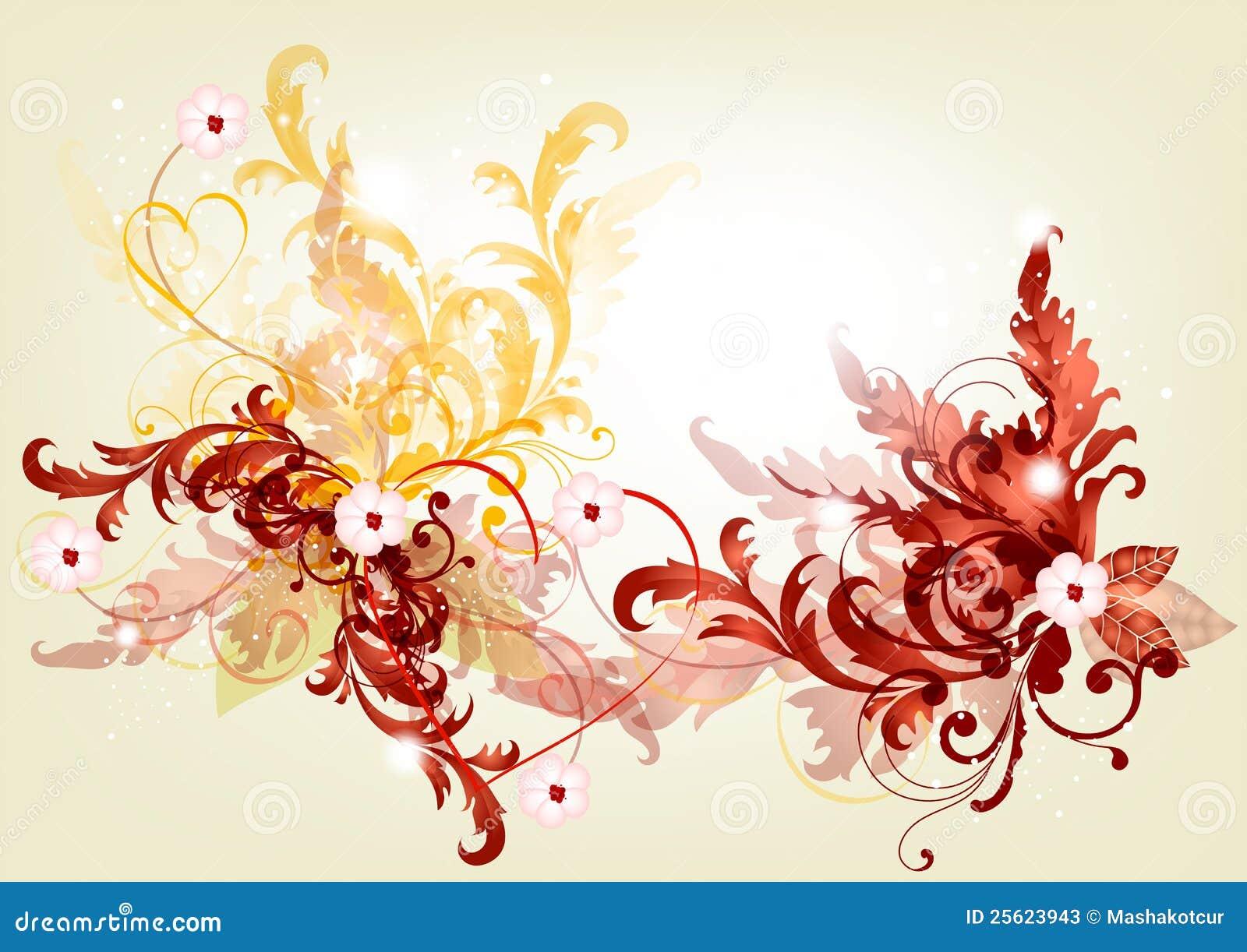 elegant filigree background with - photo #4