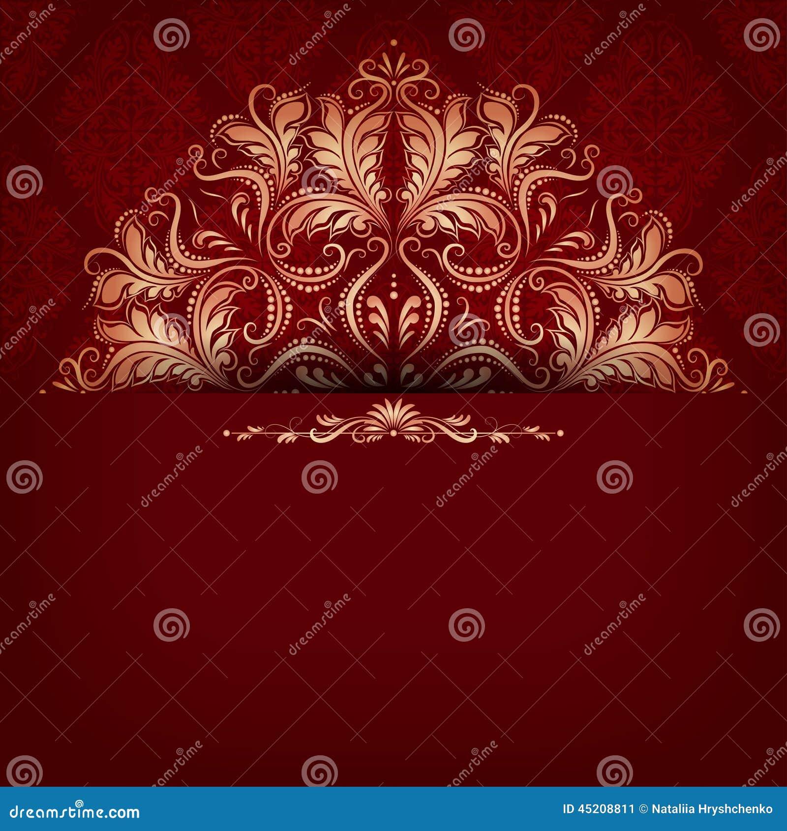 elegant filigree background with - photo #2