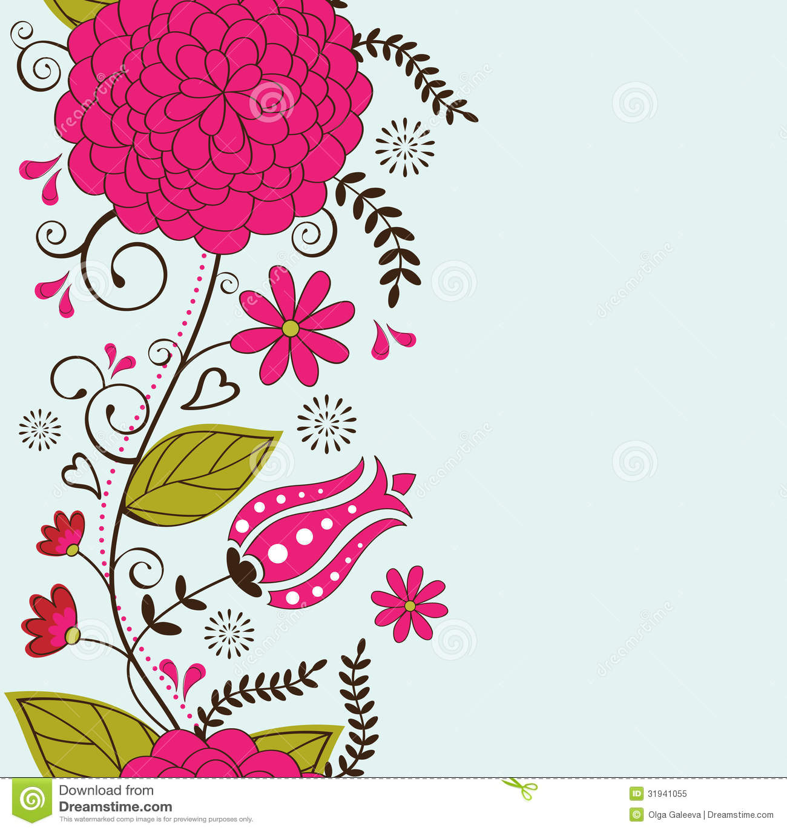 Elegant Floral Background Royalty Free Stock Photo - Image: 31941055