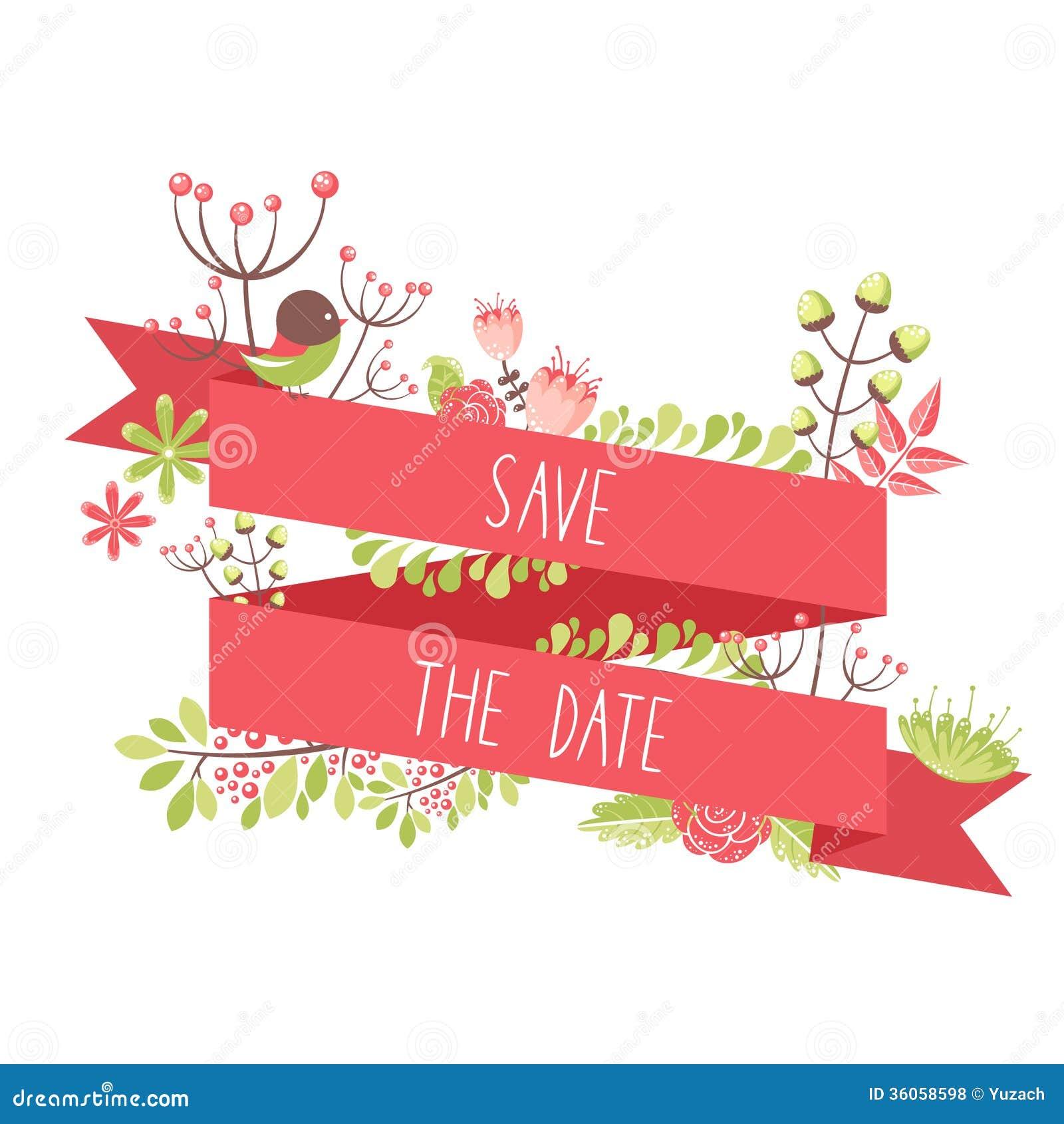 Elegant Floral Decorative Elements For Celebration Cards Stock ...