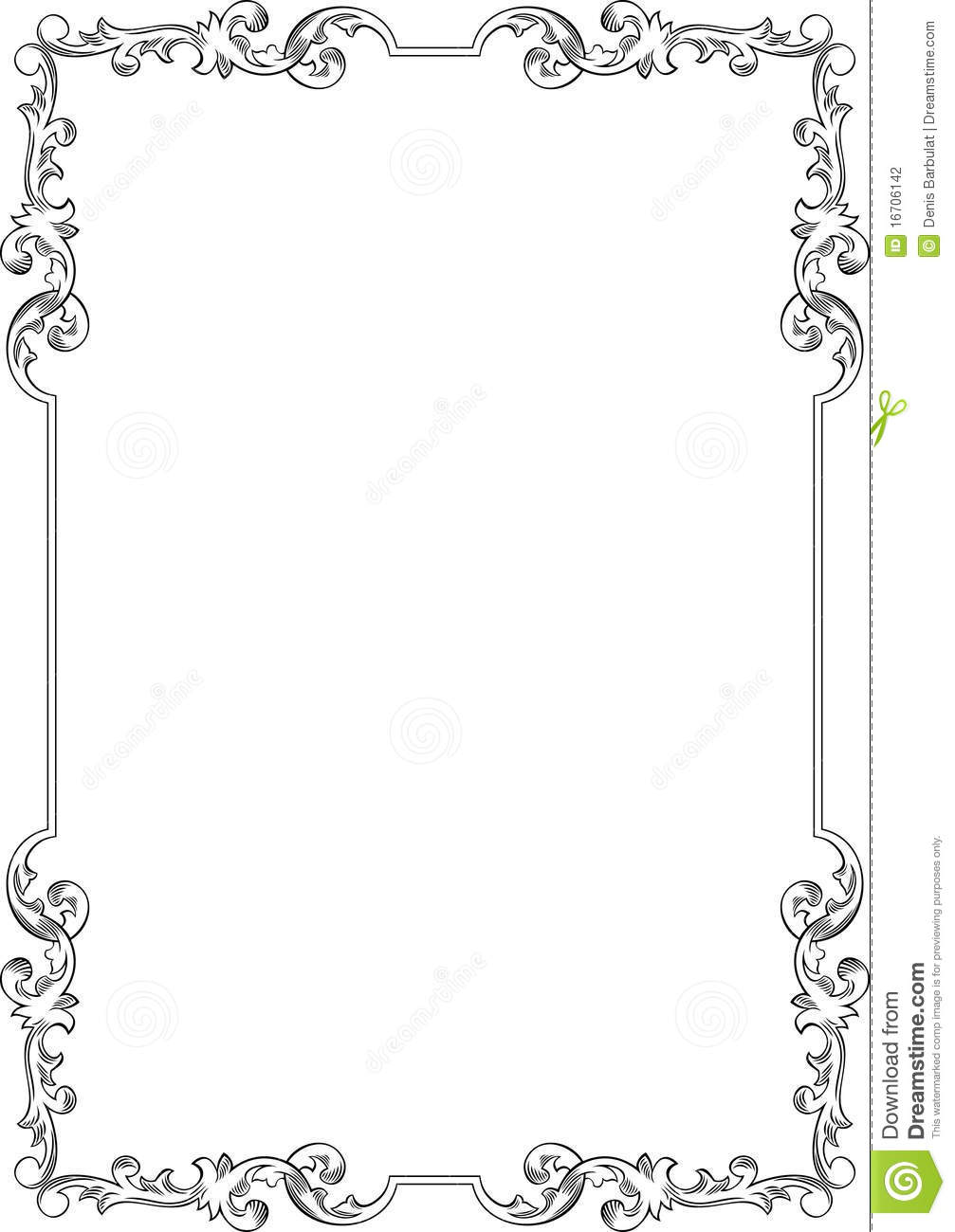 Go Back > Images For > Elegant Frame Clip Art