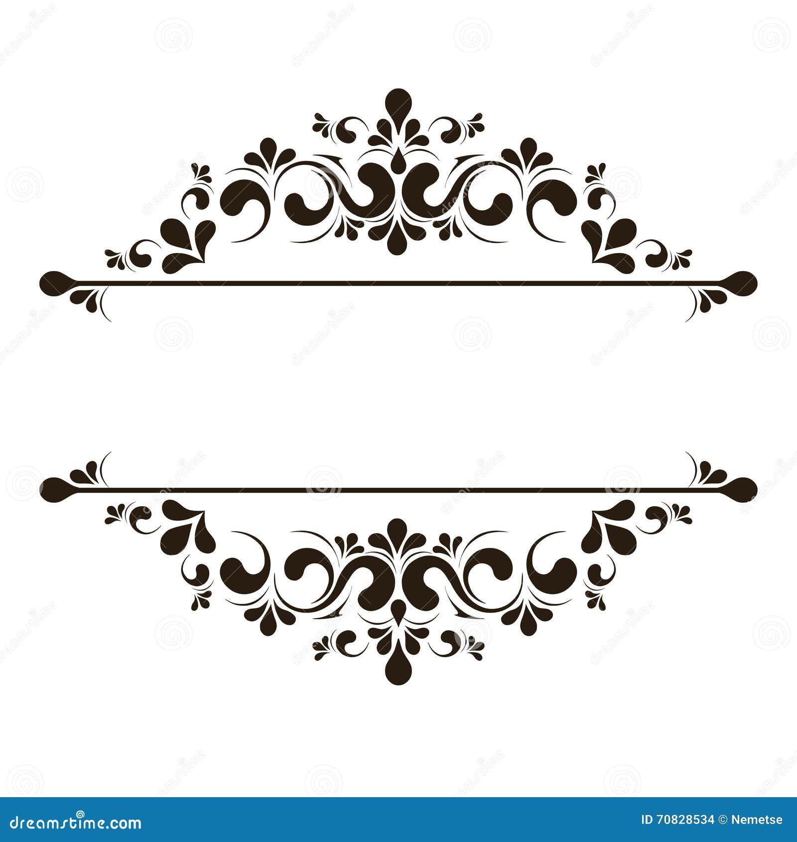 elegant frame and corner element vector art getty images - Elegant Frames