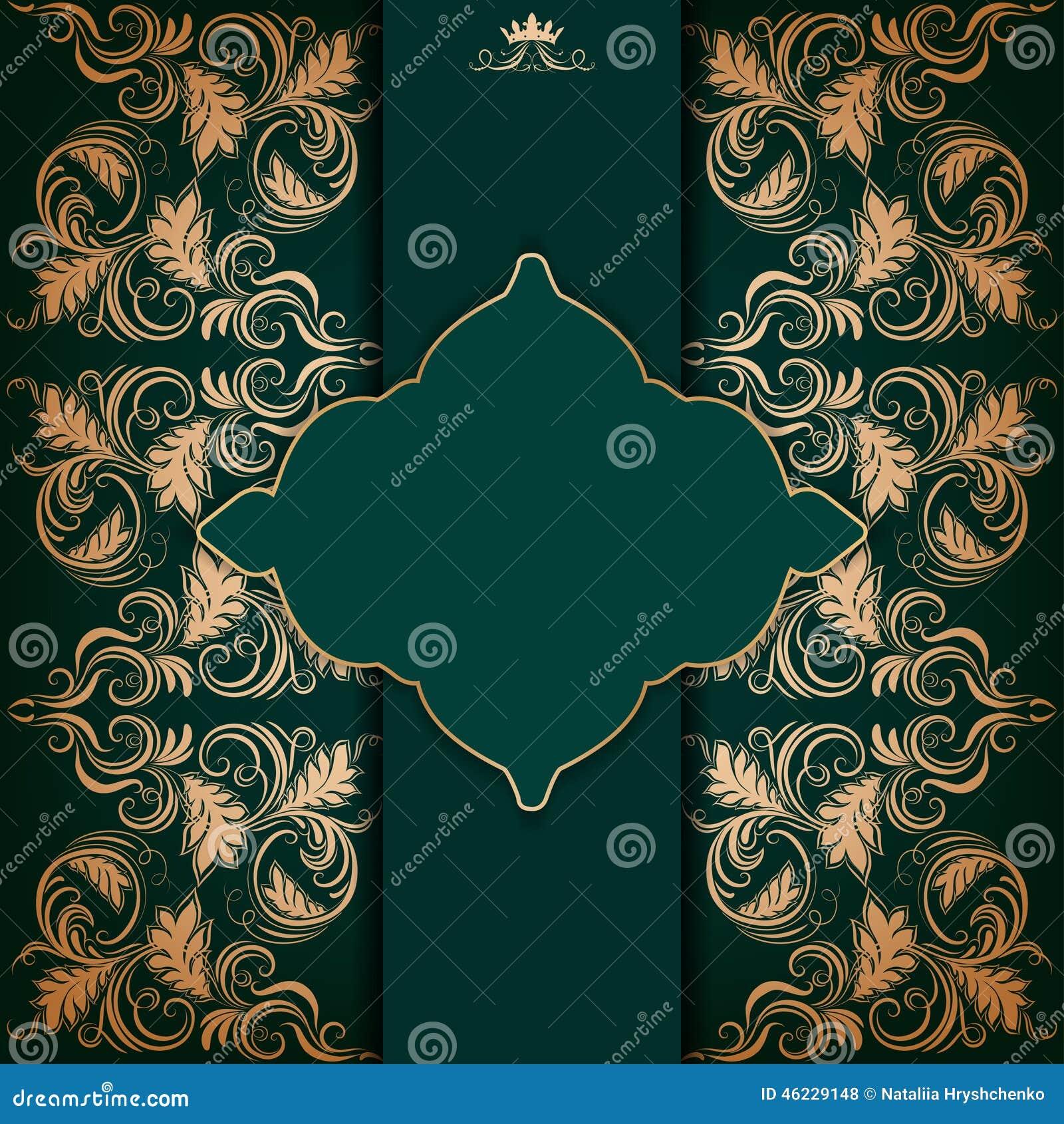 elegant filigree background with - photo #6