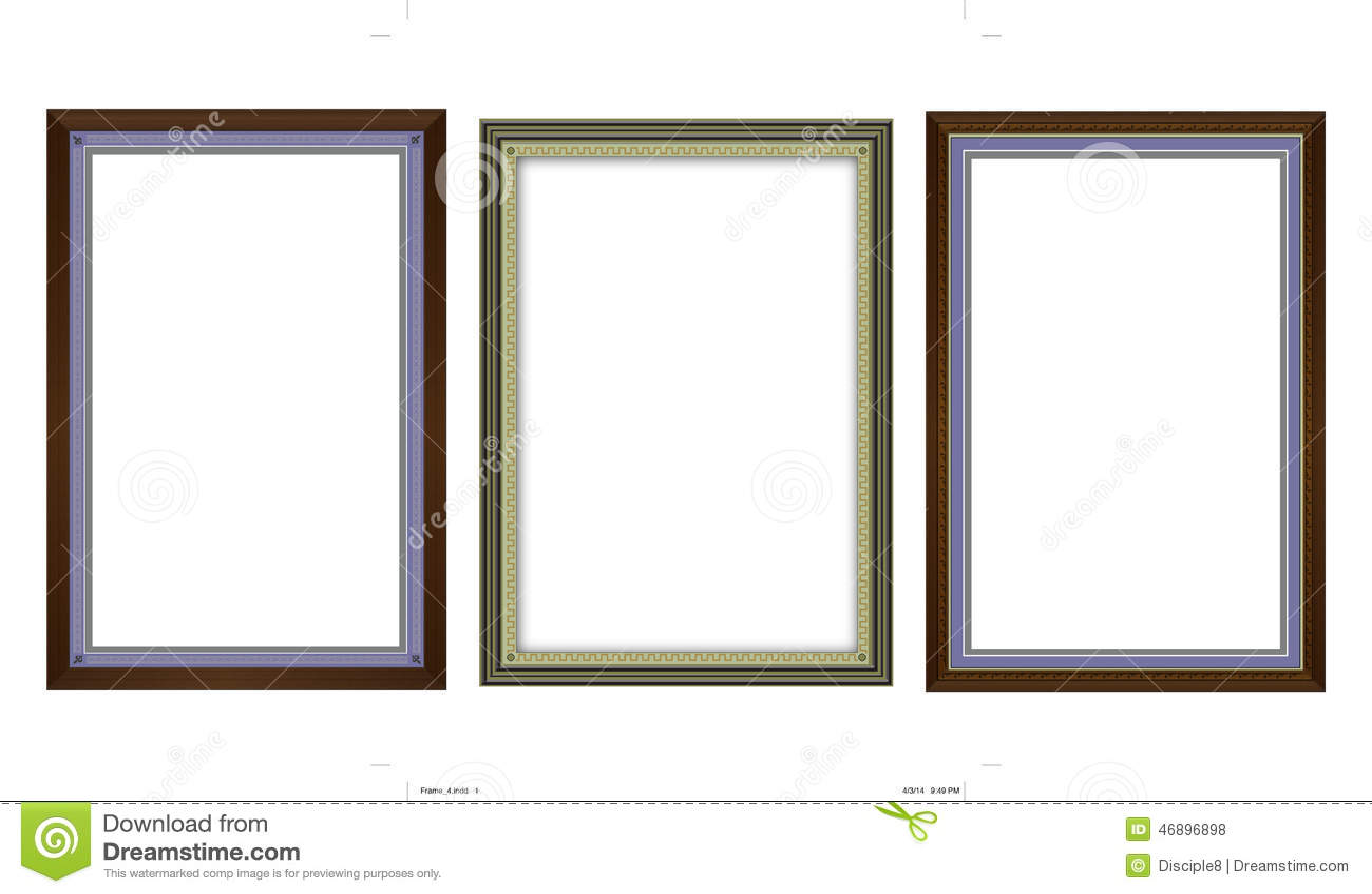classically designs elegant formal frames illustrations original ...