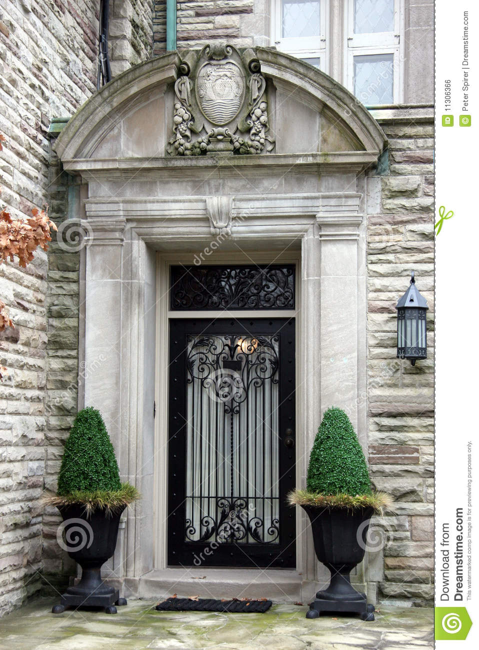 Elegant front door royalty free stock image image 11306366 for Elegant front doors