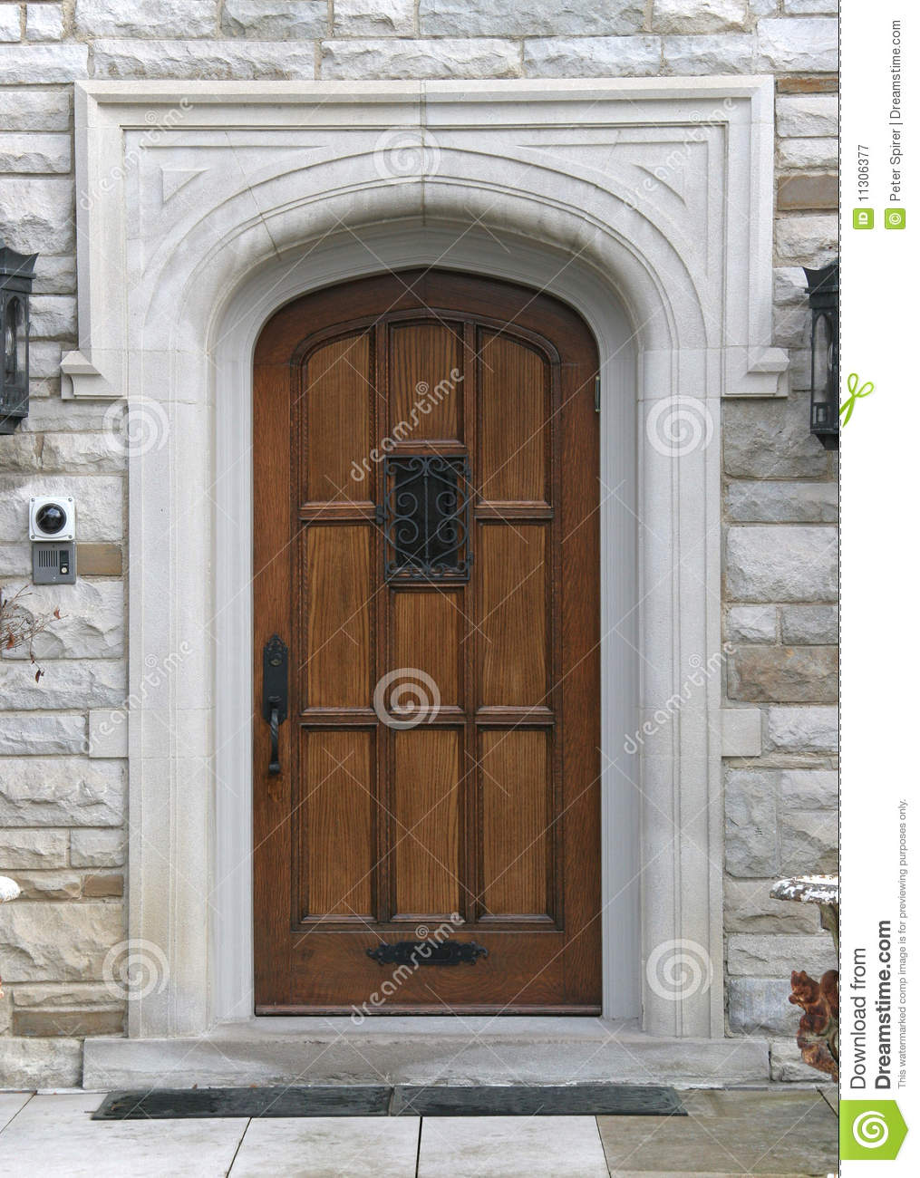 Elegant front door royalty free stock photography image for Elegant front doors