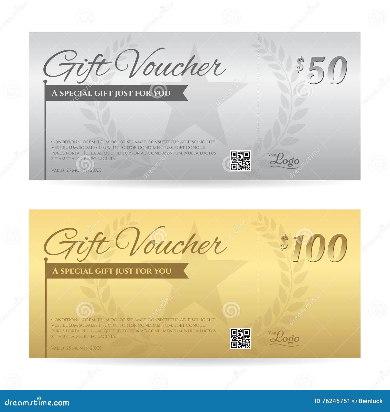 Elegant Gift Voucher Or Gift Card Certificate Template – Gift Card Certificate Template