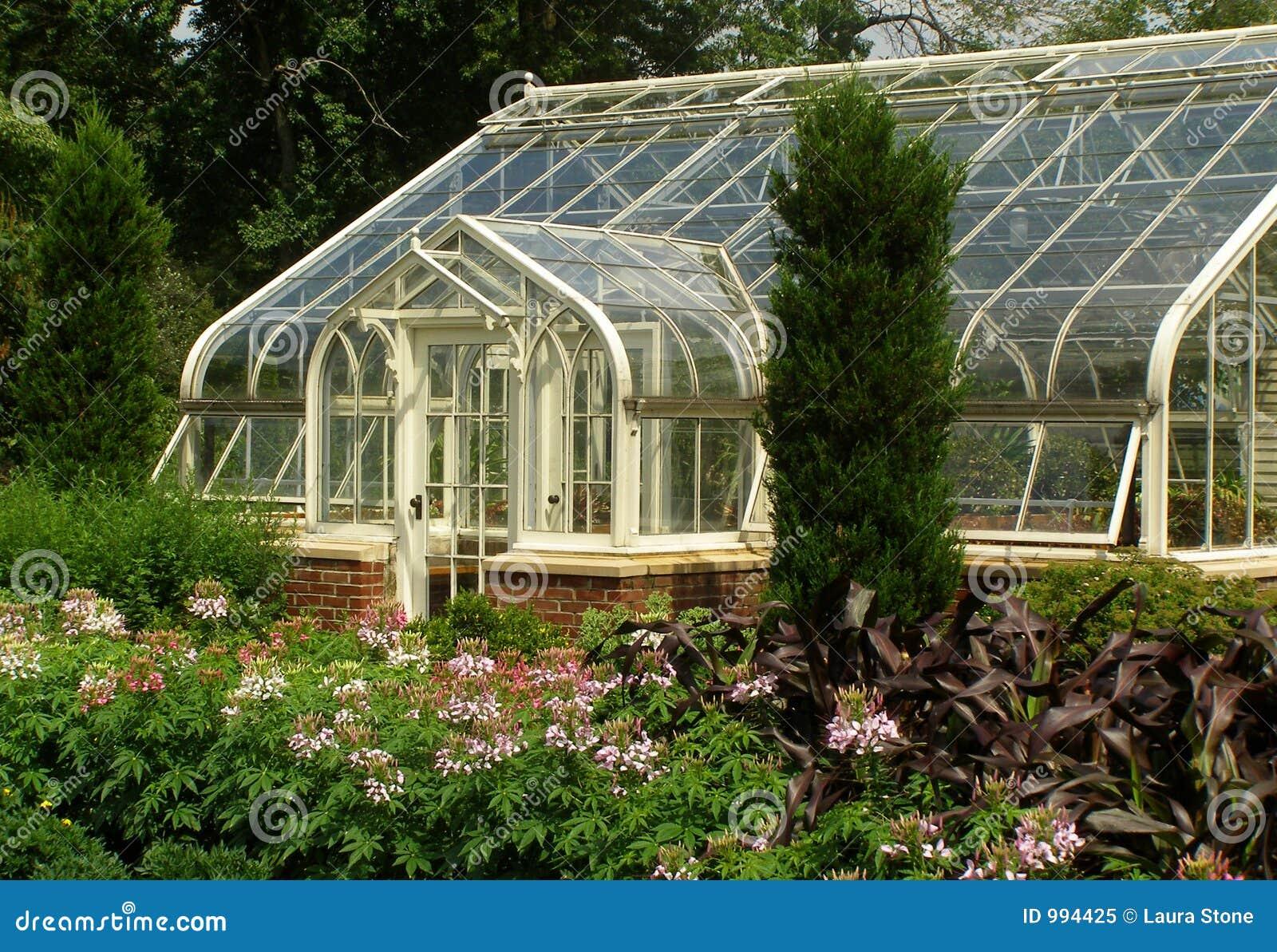 Elegant Greenhouse Stock Image Image Of Elegant Luxury