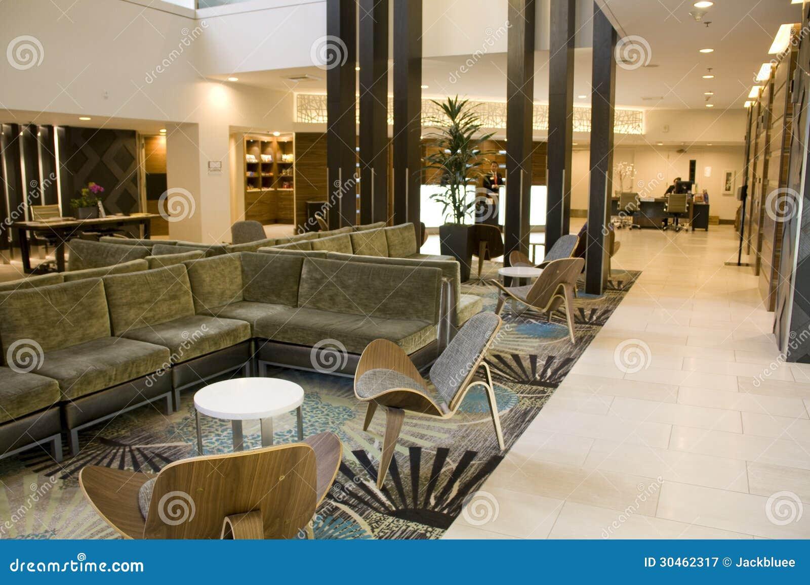 Elegant Hotel Lobby Editorial Photography Image 30462317