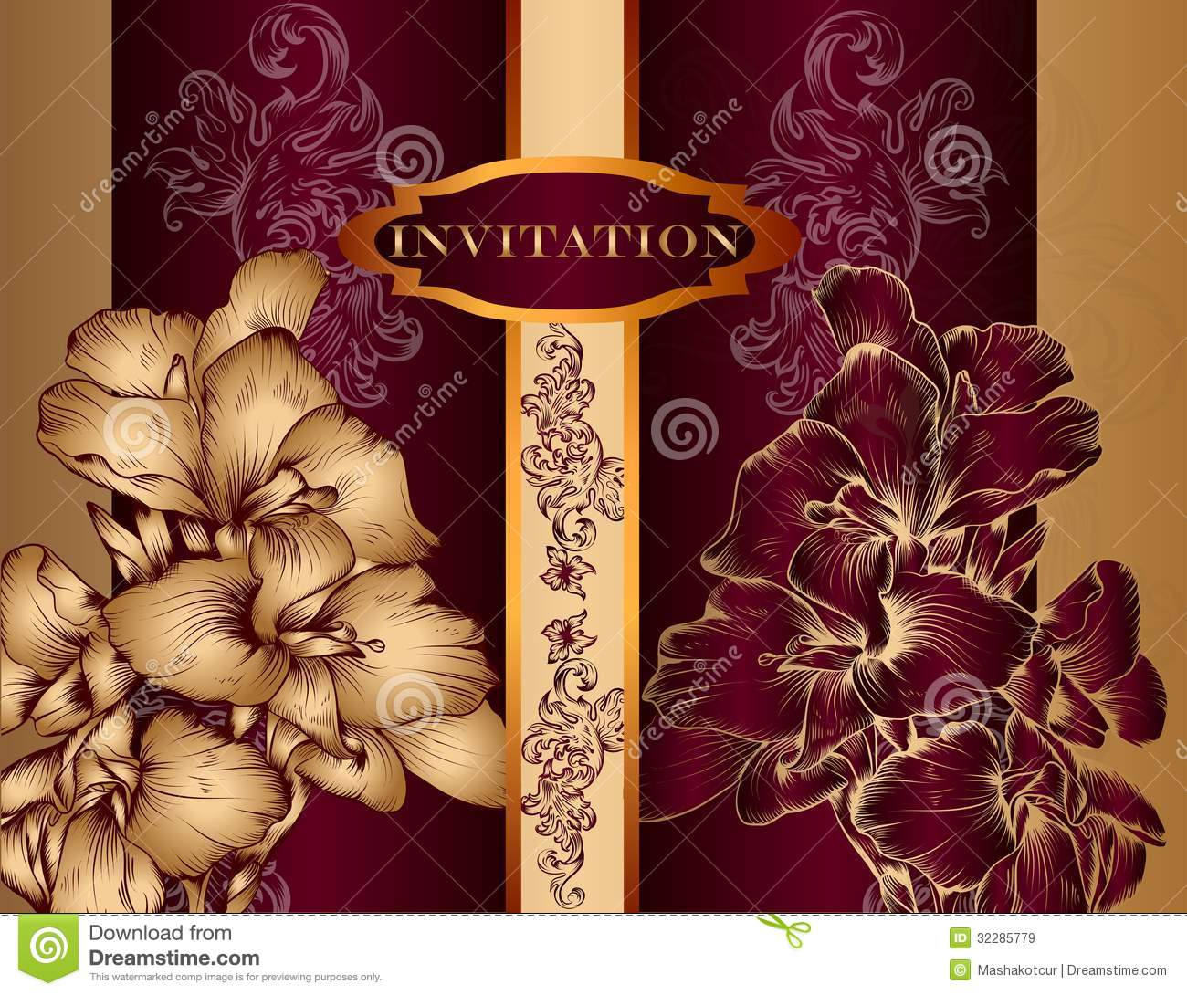 Wedding Invitation Luxury for nice invitations sample