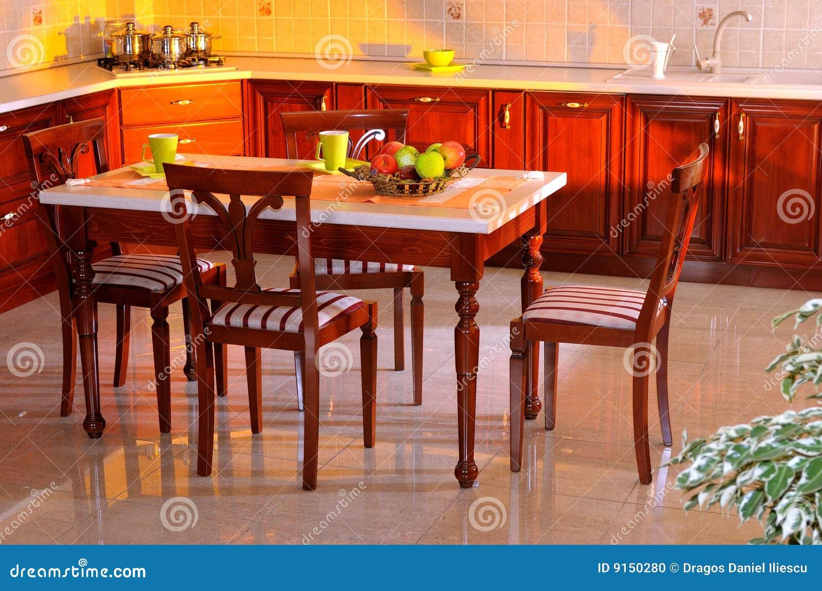 Elegant Kitchen Decorating House Stock Photo Image 9150280